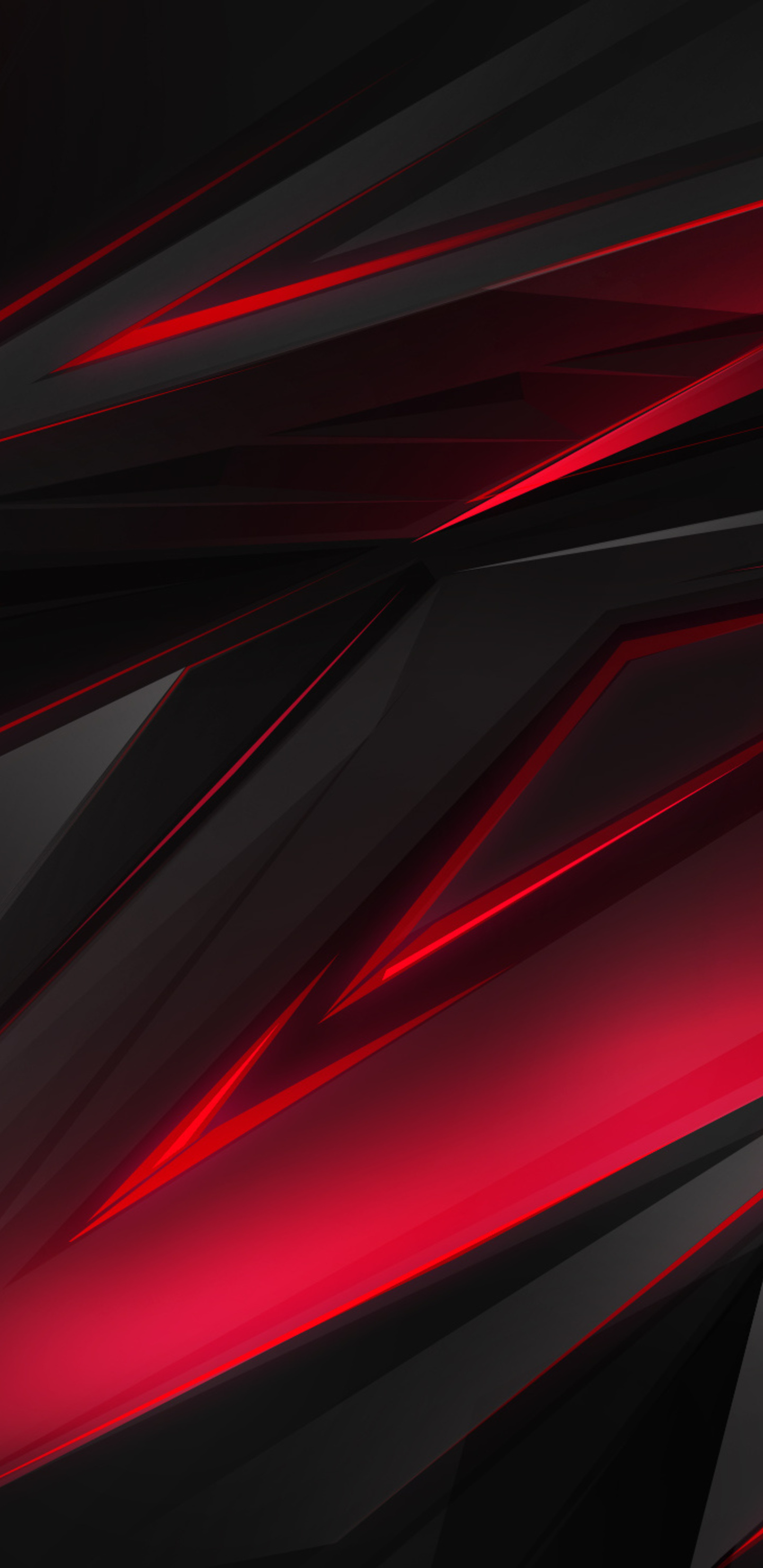 1440x2960 Polygonal Abstract Red Dark Background Samsung Galaxy Note