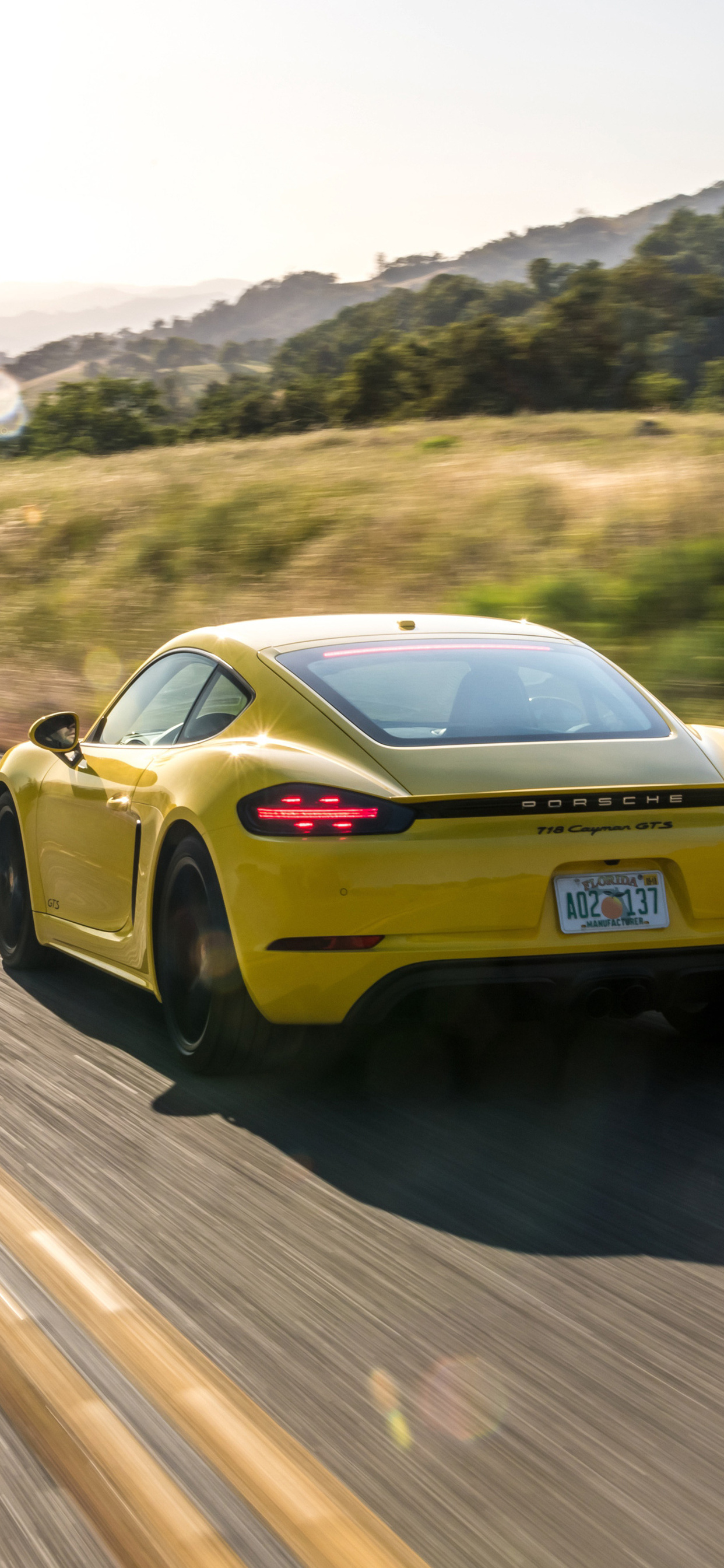 1242x2688 Porsche 718 Cayman Gts 2019 Iphone Xs Max Hd 4k Wallpapers Images Backgrounds Photos And Pictures