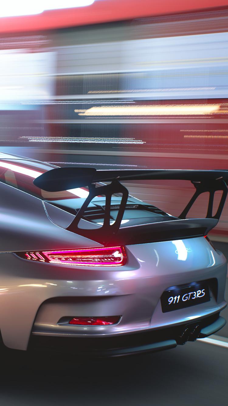 750x1334 Porsche 911 4k Rear iPhone 6, iPhone 6S, iPhone 7 ...