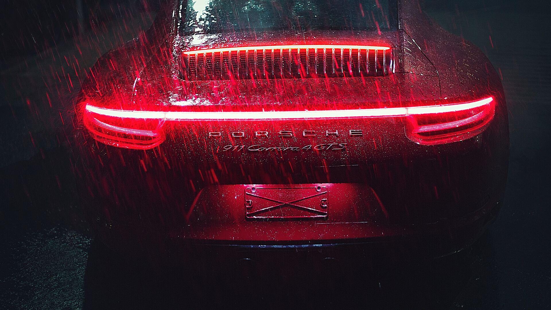 Image result for porsche rain wallpaper 4k