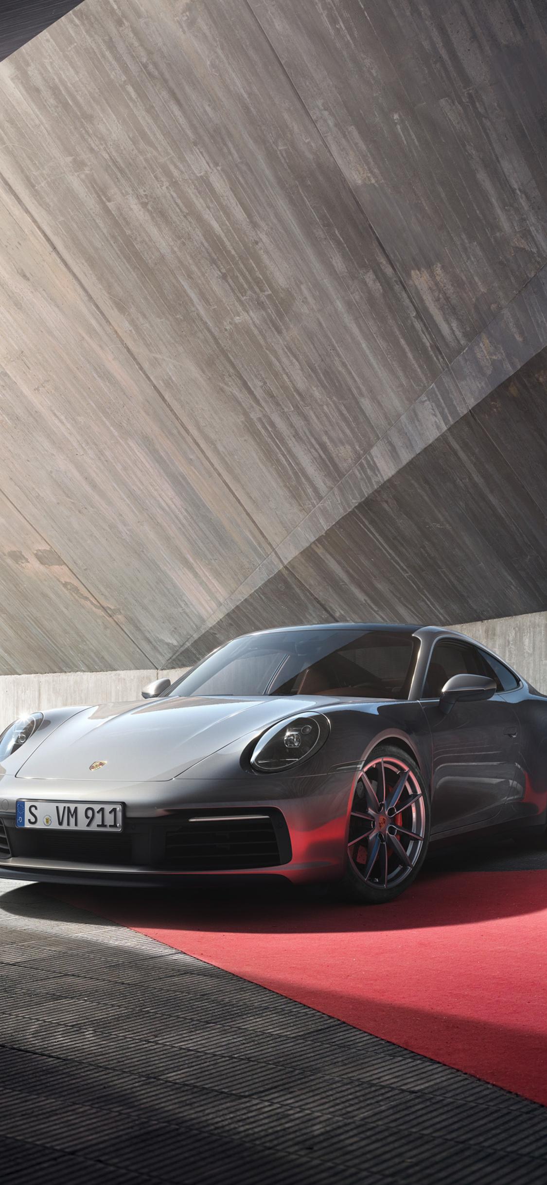 1125x2436 Porsche 911 Front 4k Iphone Xs Iphone 10 Iphone X