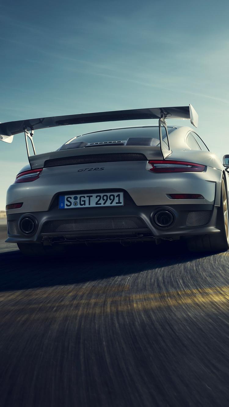750x1334 Porsche 911 Gt2 Rs 4k 2018 Iphone 6 Iphone 6s Iphone 7 Hd