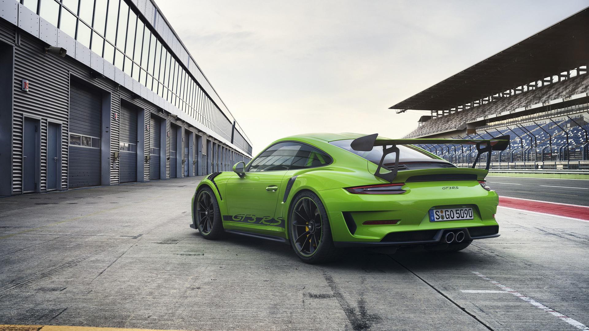 Porsche Gt3 Rs Blue 1920 X 1080: 1920x1080 Porsche 911 GT3 RS 2018 Rear Laptop Full HD