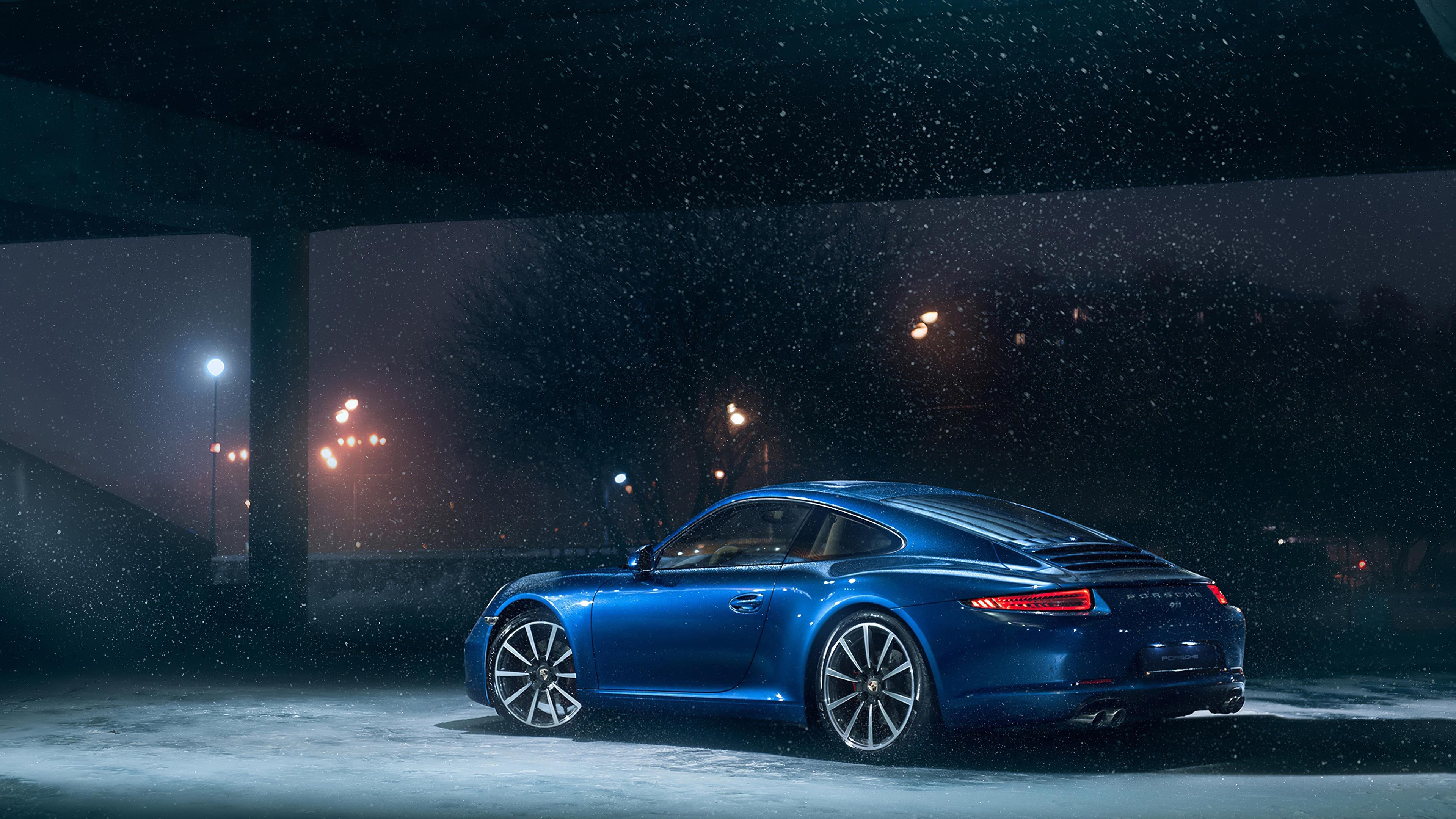 3840x2160 Porsche 911 In Snow 4k HD 4k Wallpapers, Images ...