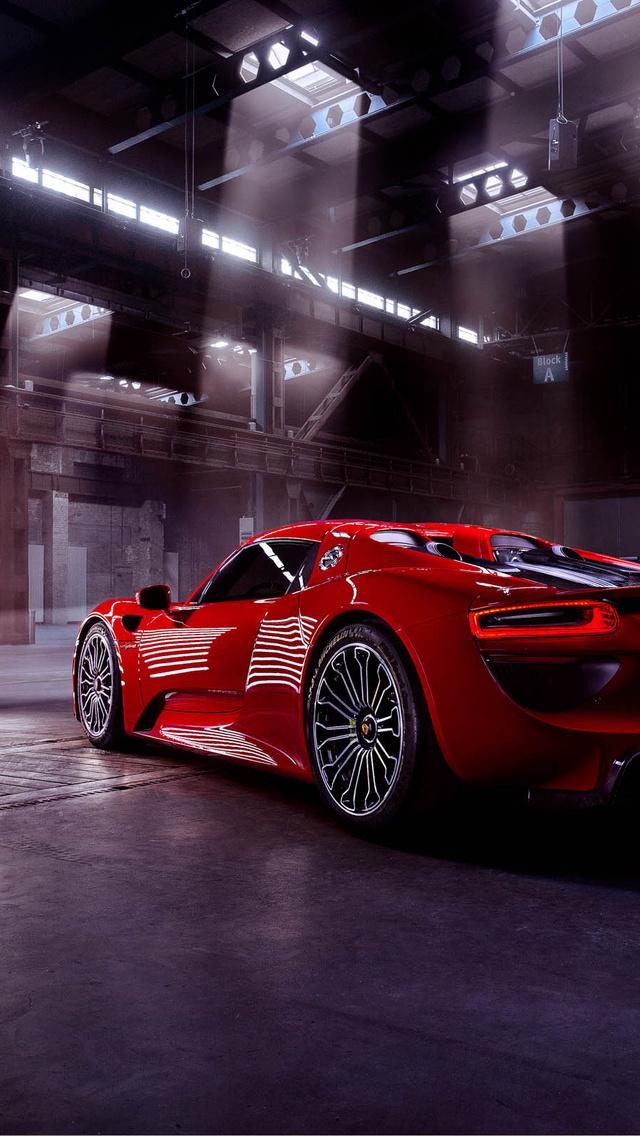 Porsche 918 Spyder Wallpaper Iphone
