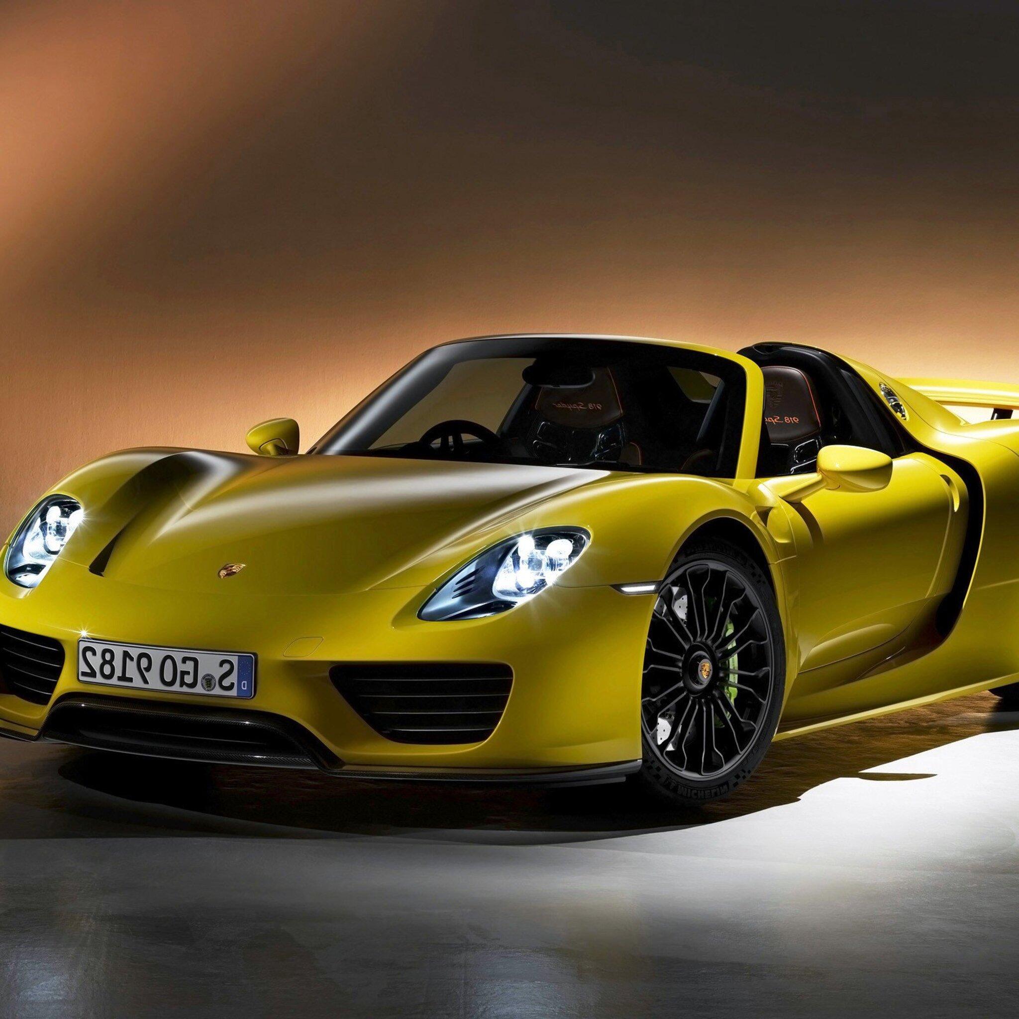 Porsche Car Wallpaper: 2048x2048 Porsche 918 Spyder Desktop Ipad Air HD 4k