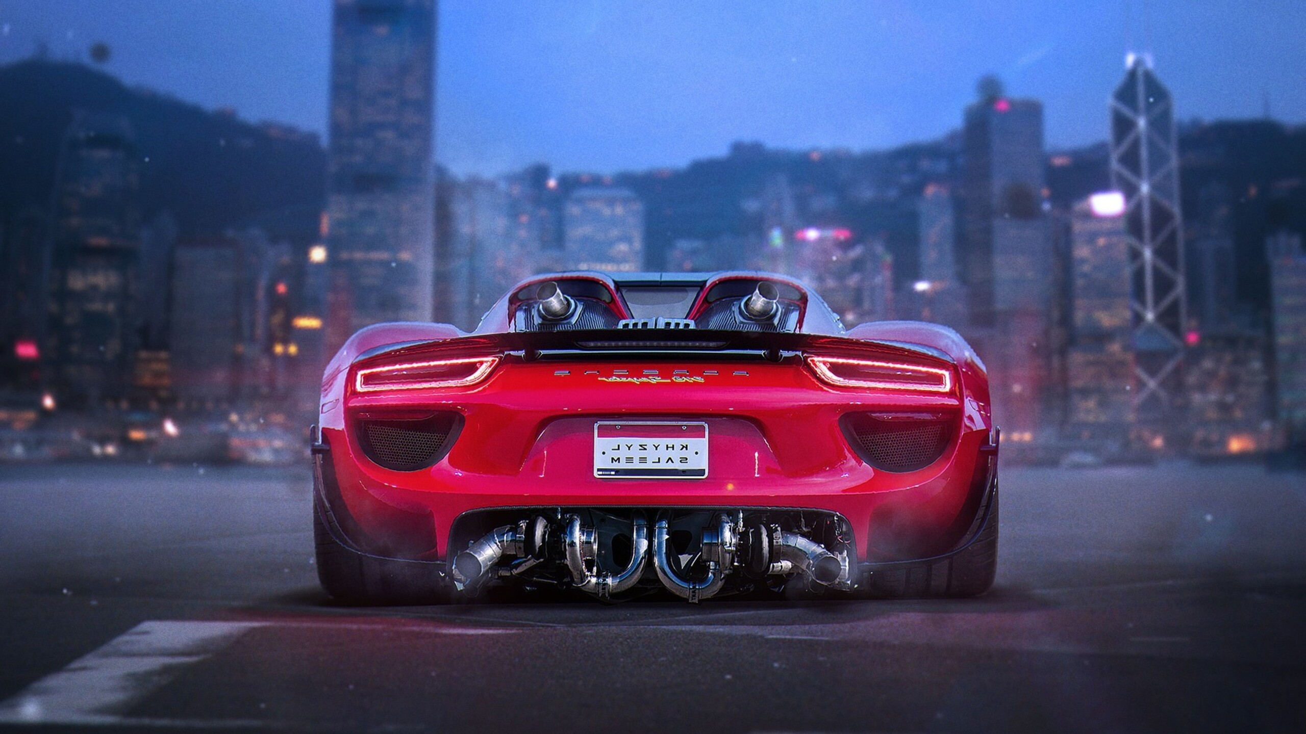2560x1440 Porsche 918 Spyder HD 1440P Resolution HD 4k ...