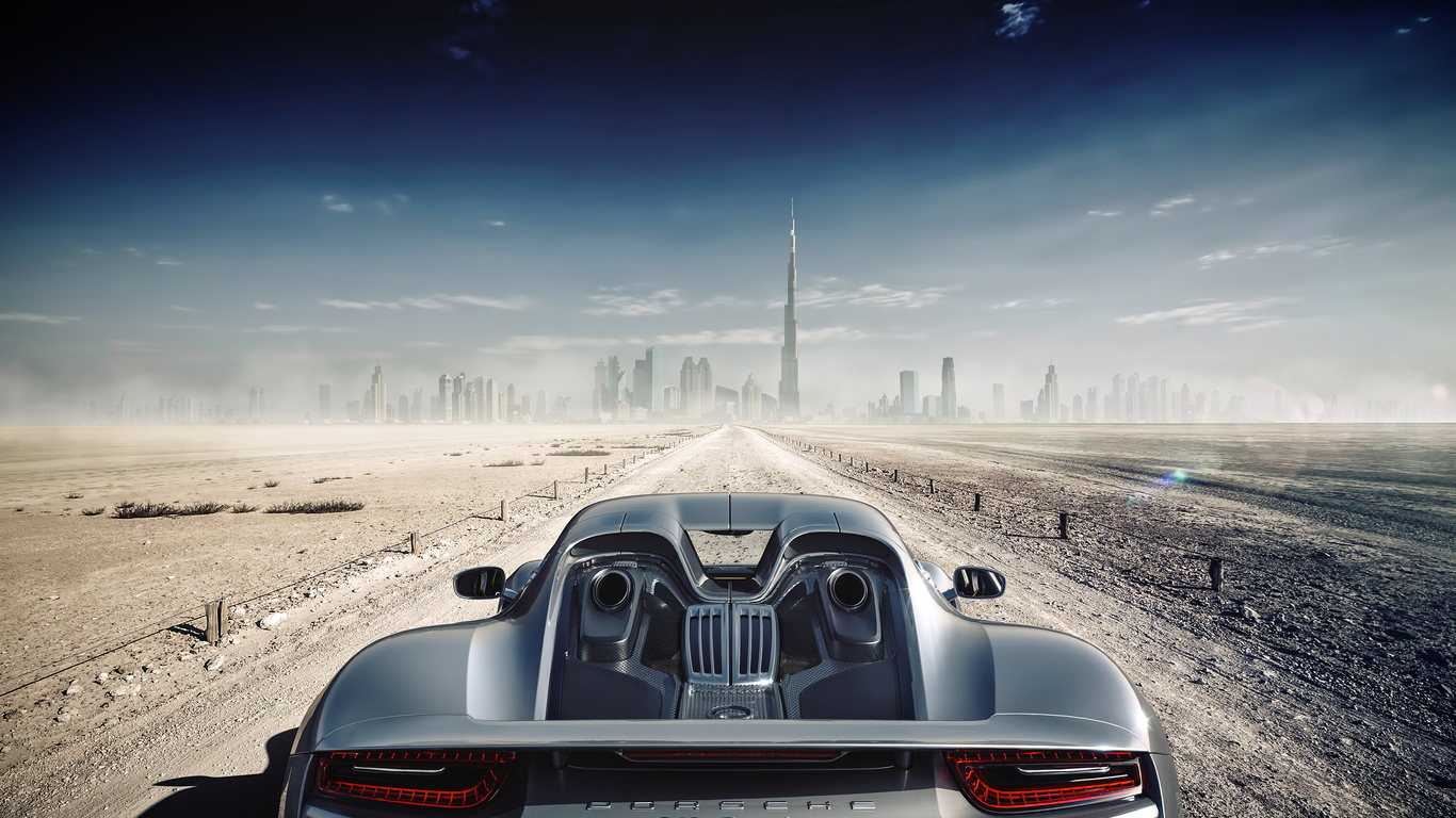 1366x768 Porsche 918 Spyder In Dubai 1366x768 Resolution Hd 4k Wallpapers Images Backgrounds Photos And Pictures