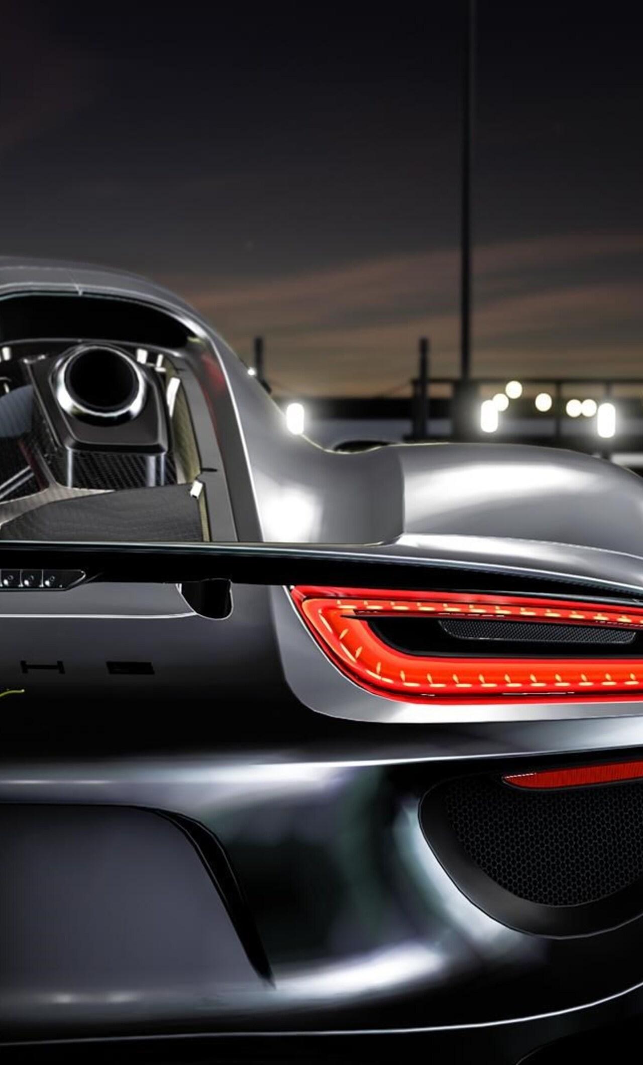 1280x2120 Porsche 918 Spyder In Forza Motosport 6 Iphone 6 Hd 4k
