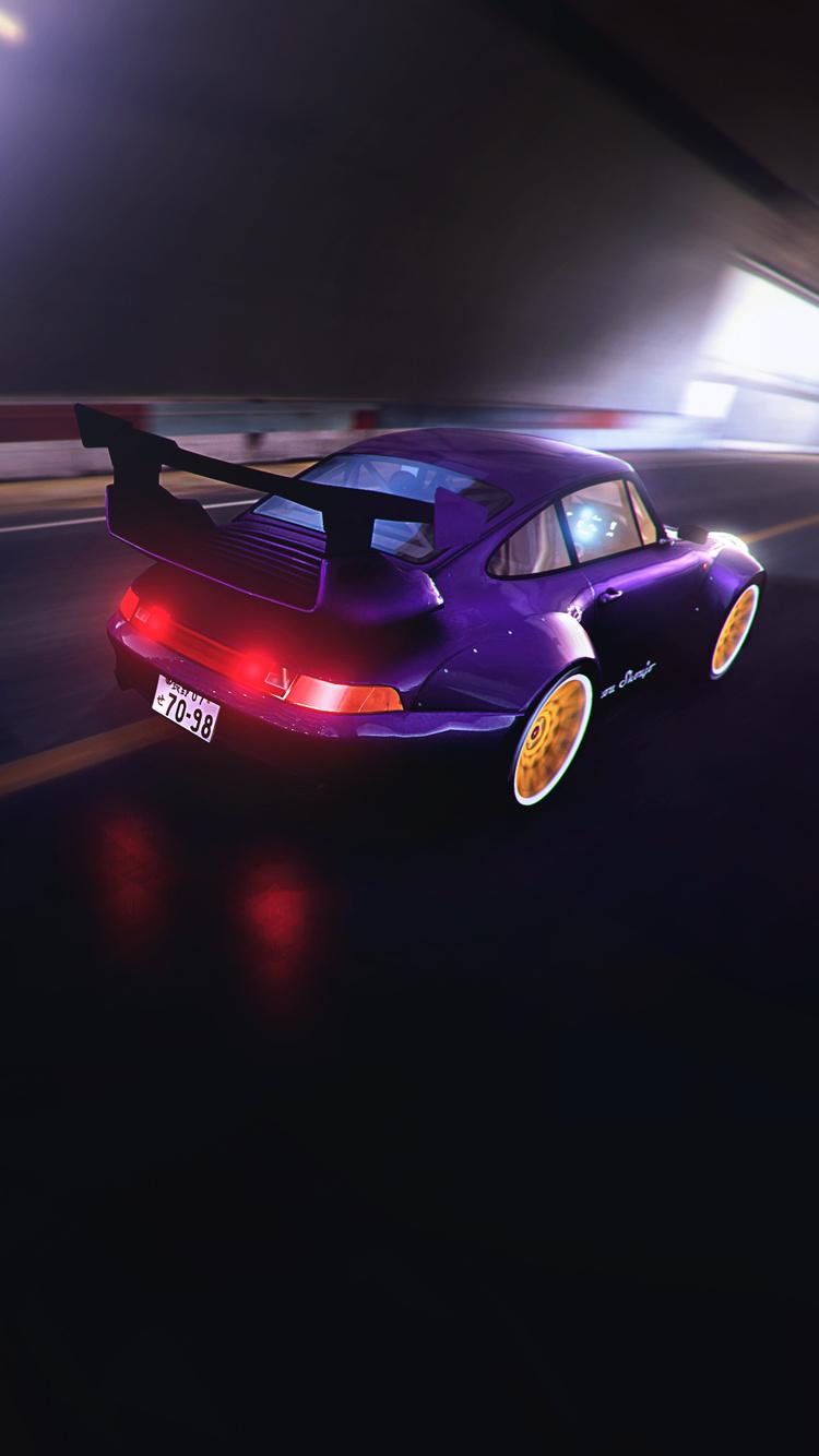 750x1334 Porsche 993 Rwb In Trackmania 2 Iphone 6 Iphone 6s