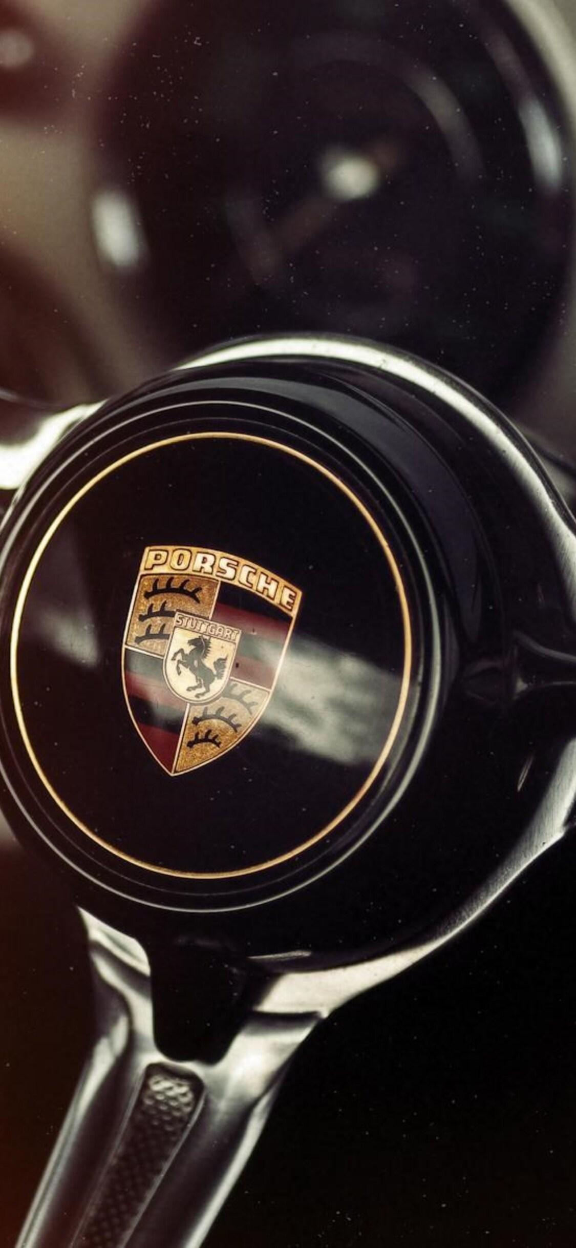 1125x2436 Porsche Car Steering Iphone Xs Iphone 10 Iphone X Hd 4k
