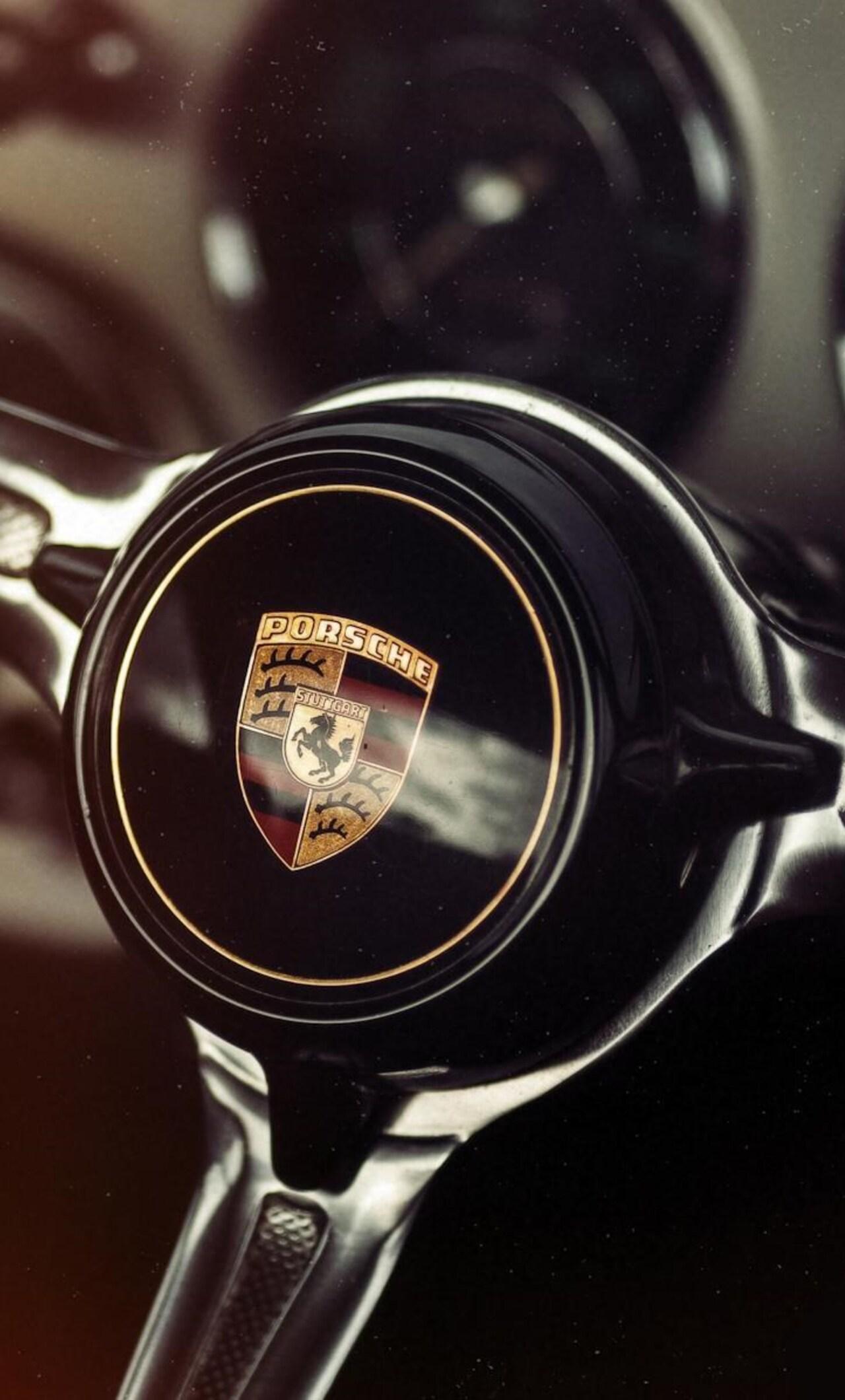 1280x2120 Porsche Car Steering Iphone 6 Hd 4k Wallpapers Images