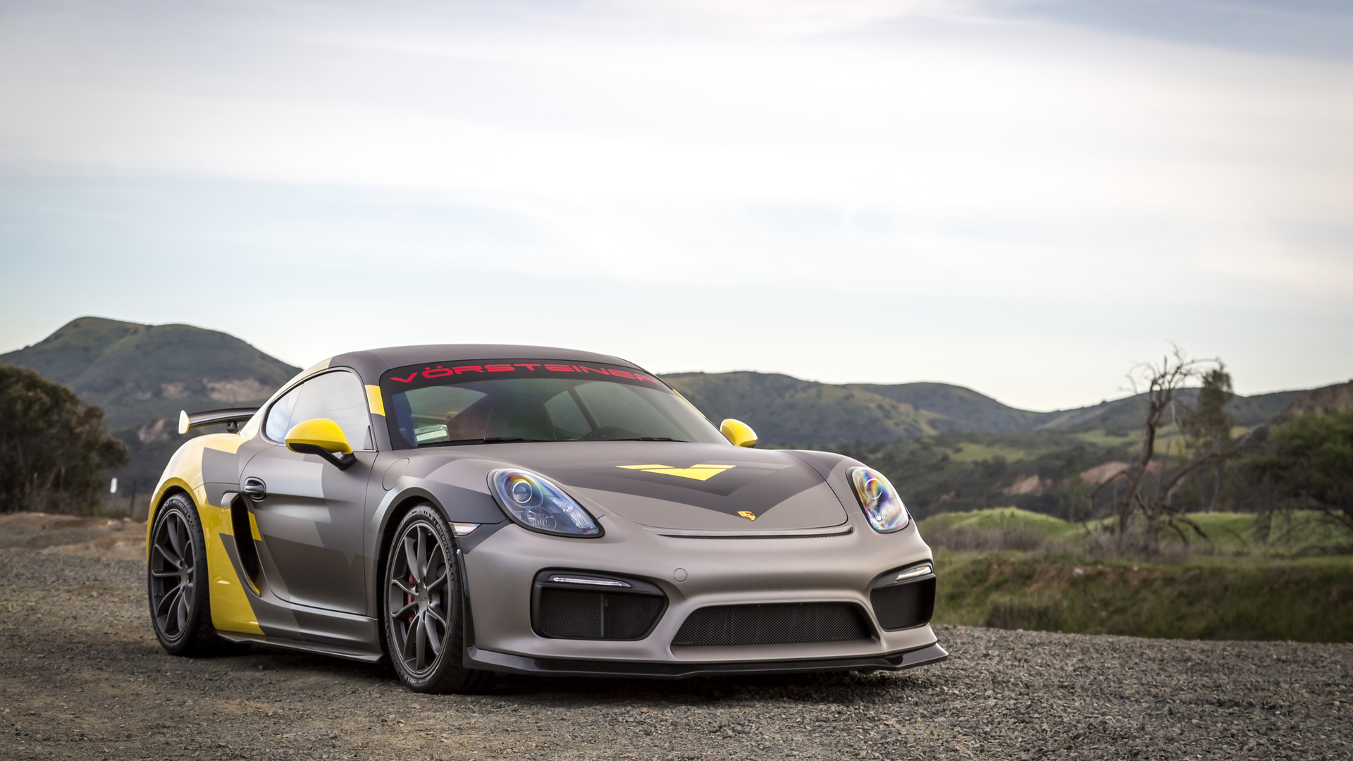 1920x1080 Porsche Cayman GT4 Vorsteiner Laptop Full HD
