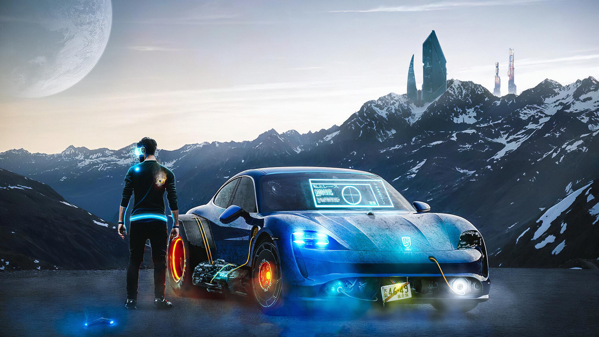 2048x1152 Porsche High Tech 2048x1152 Resolution Hd 4k