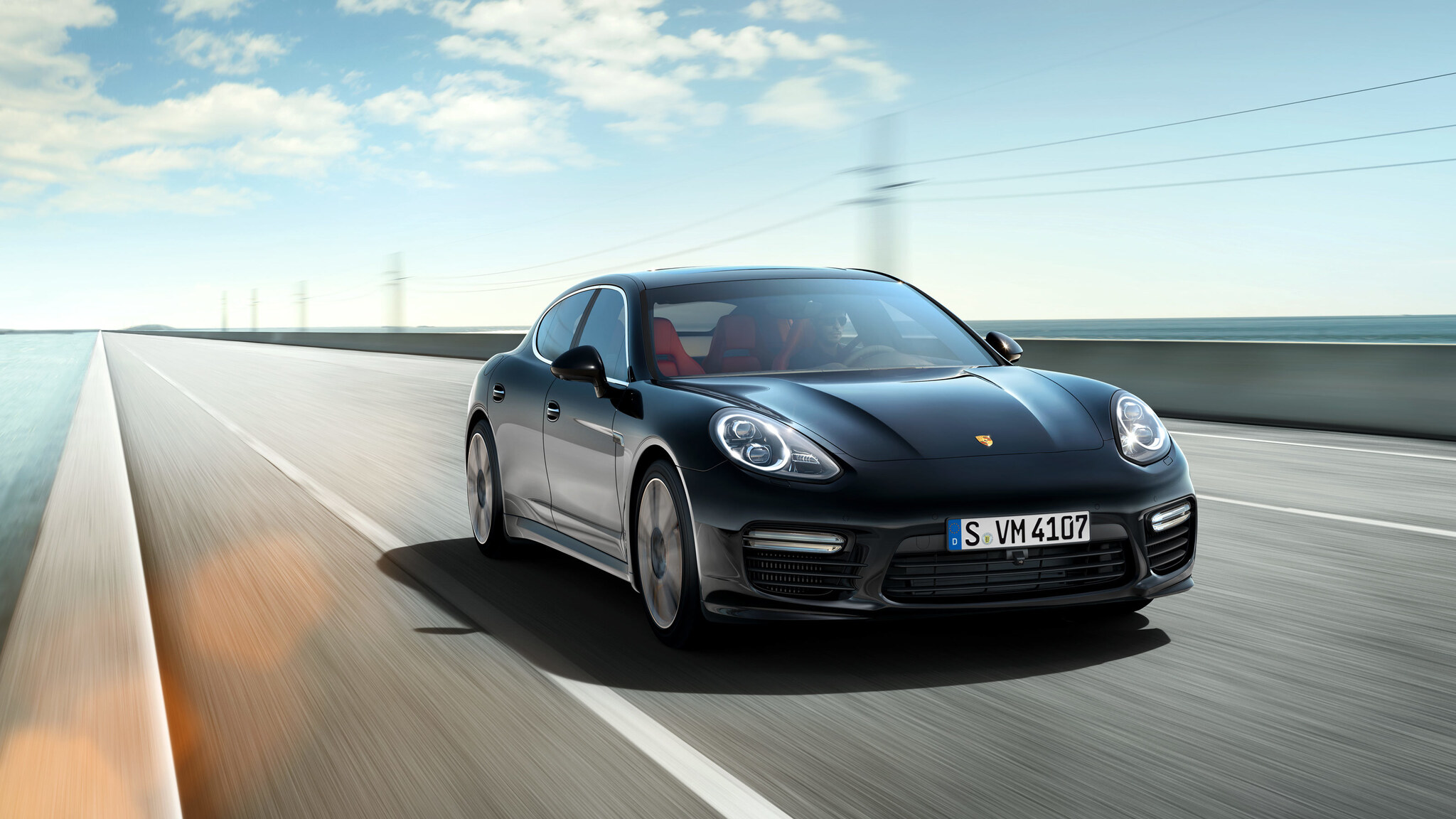 Porsche Panamera дорога скорость загрузить