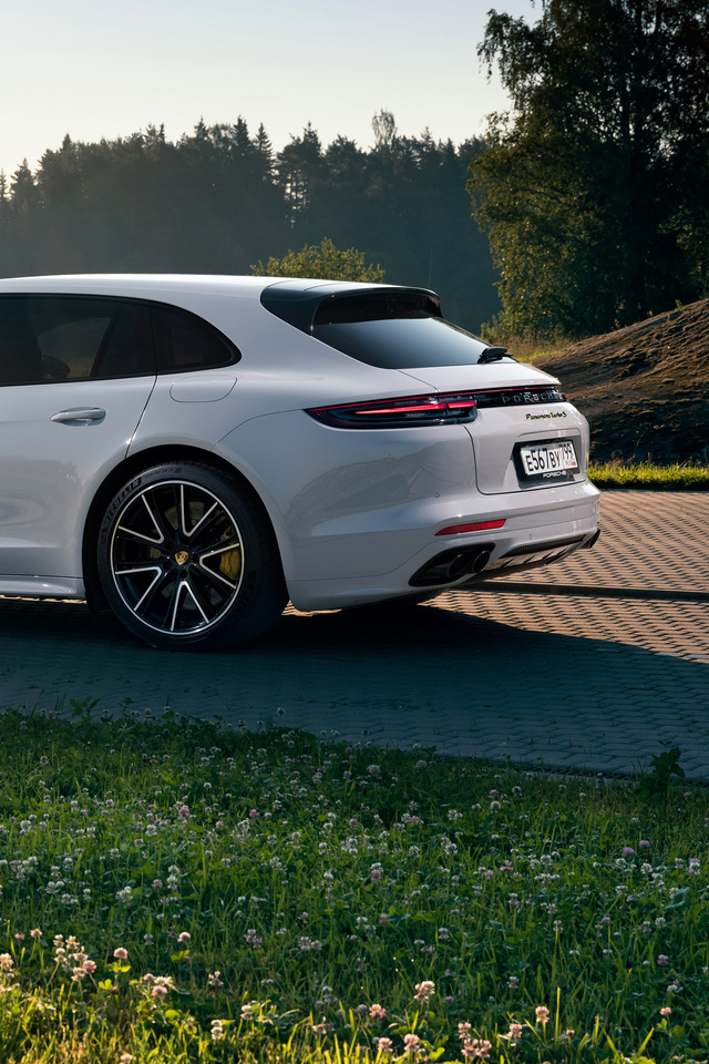 640x960 Porsche Panamera Turbo S E Hybrid Sport Turismo Rear Iphone 4 Iphone 4s Hd 4k Wallpapers Images Backgrounds Photos And Pictures