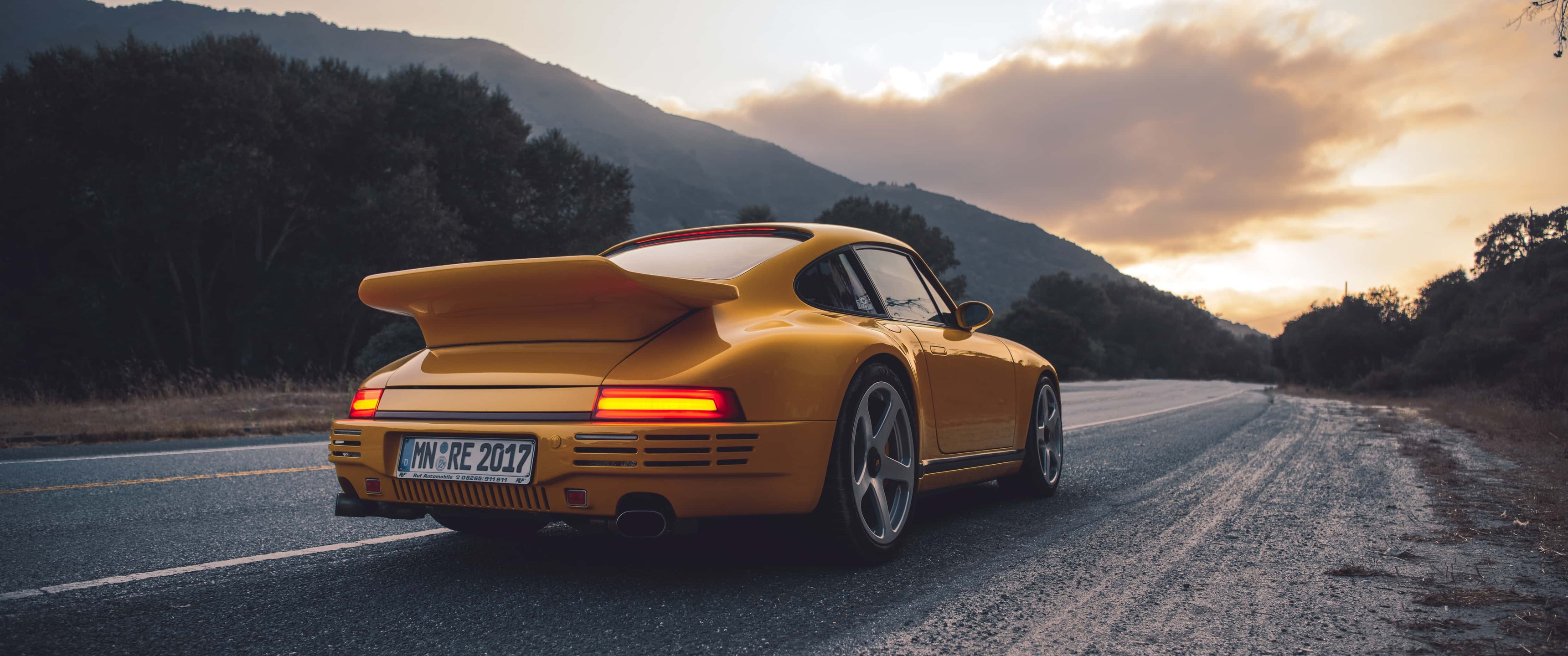 3440x1440 Porsche Rear 4k 3440x1440 Resolution HD 4k ...