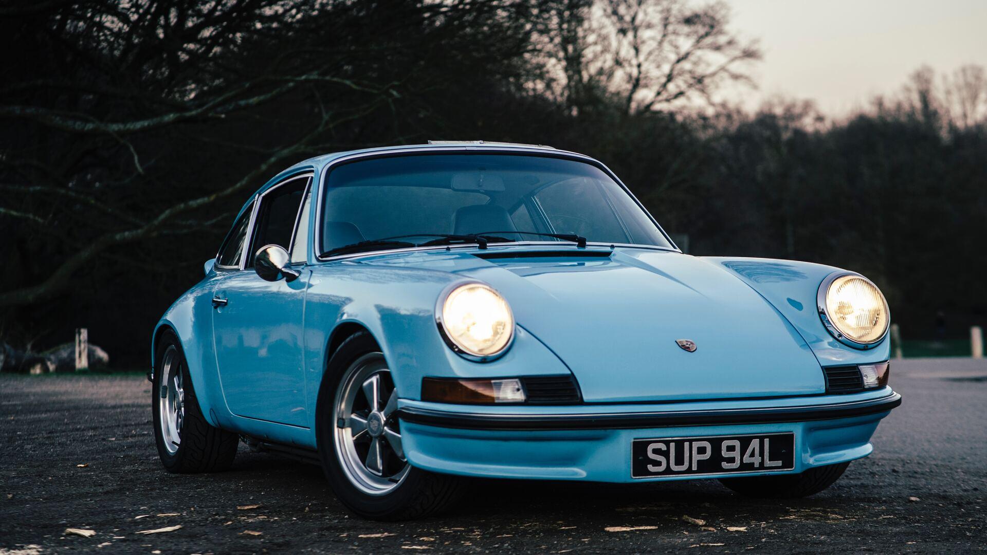 Porsche Vintage Car 5k Su
