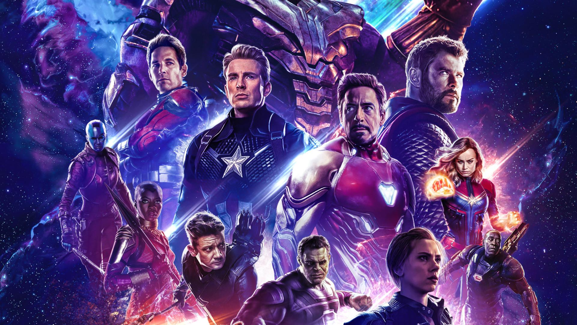 Movie Poster 2019: 1920x1080 Poster Avengers Endgame 2019 Laptop Full HD