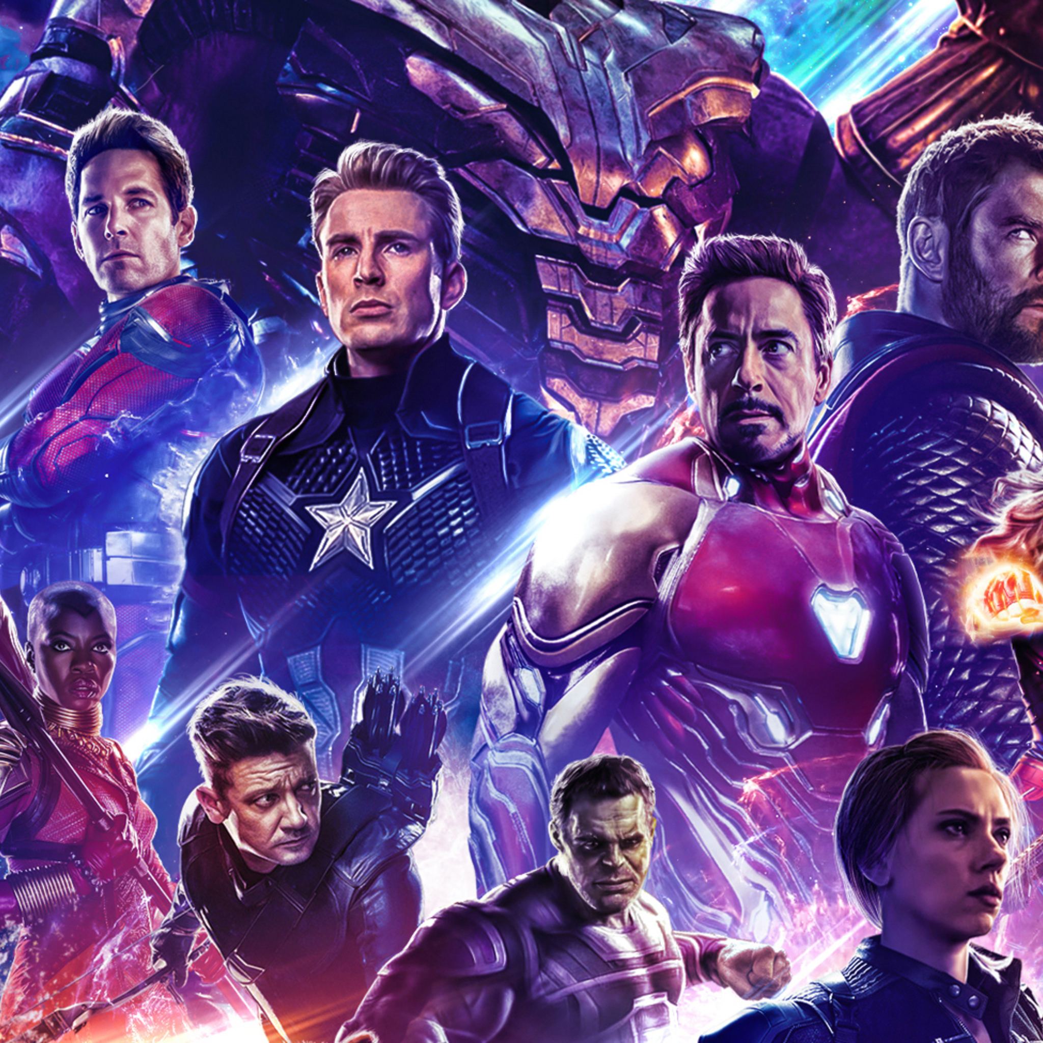 2048x2048 Poster Avengers Endgame 2019 Ipad Air HD 4k