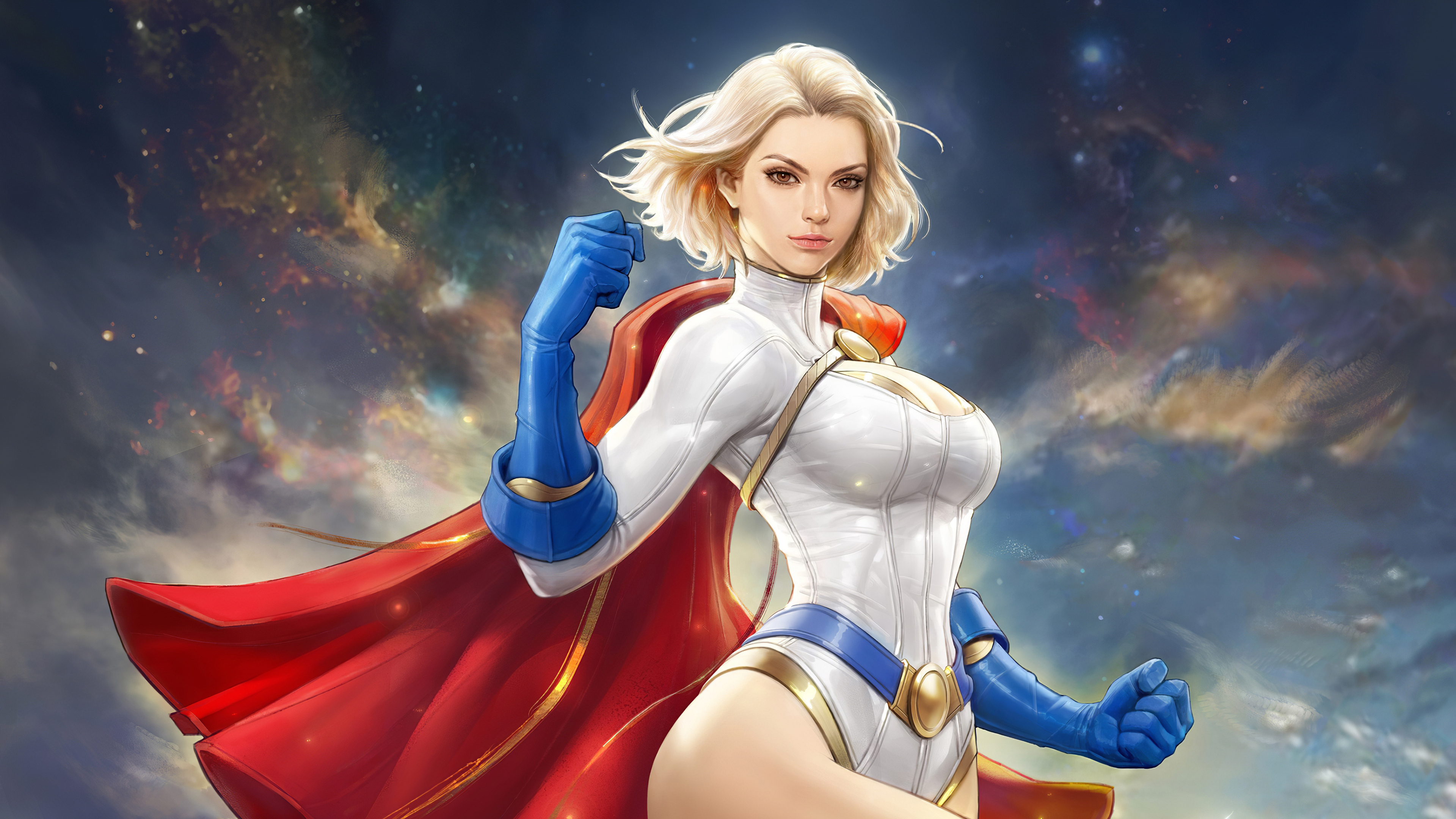 3840x2160 Power Girl 4k 4k HD 4k Wallpapers, Images ...