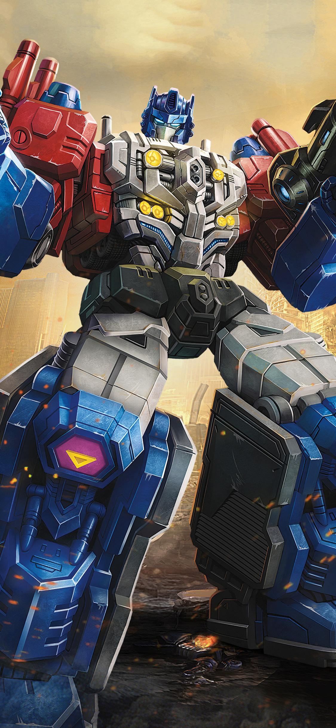 1125x2436 Powermaster Optimus In Transformers Titans Return