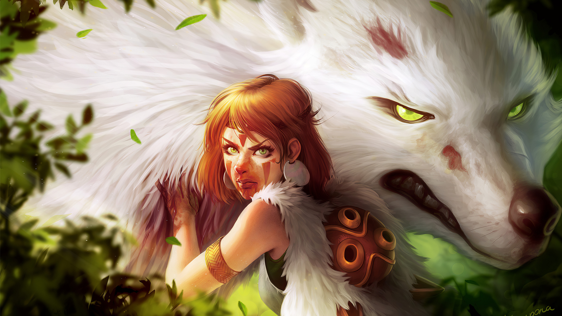 1920x1080 Princess Mononoke 4k Laptop Full Hd 1080p Hd 4k Wallpapers Images Backgrounds Photos And Pictures