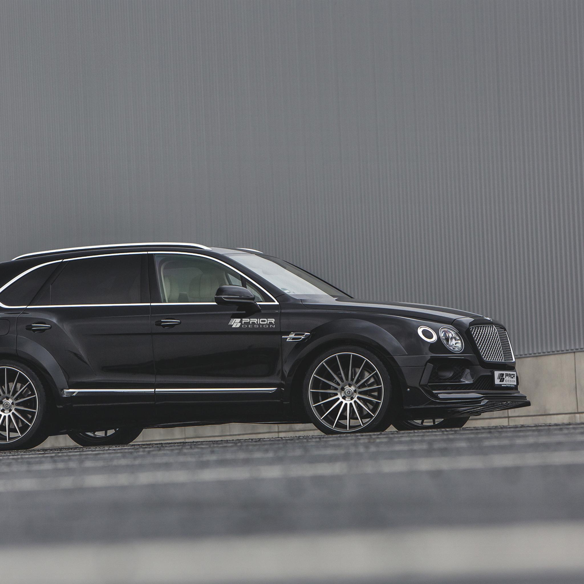 Bentley Car Wallpaper: 2048x2048 Prior Design Bentley Bentayga Side View Ipad Air