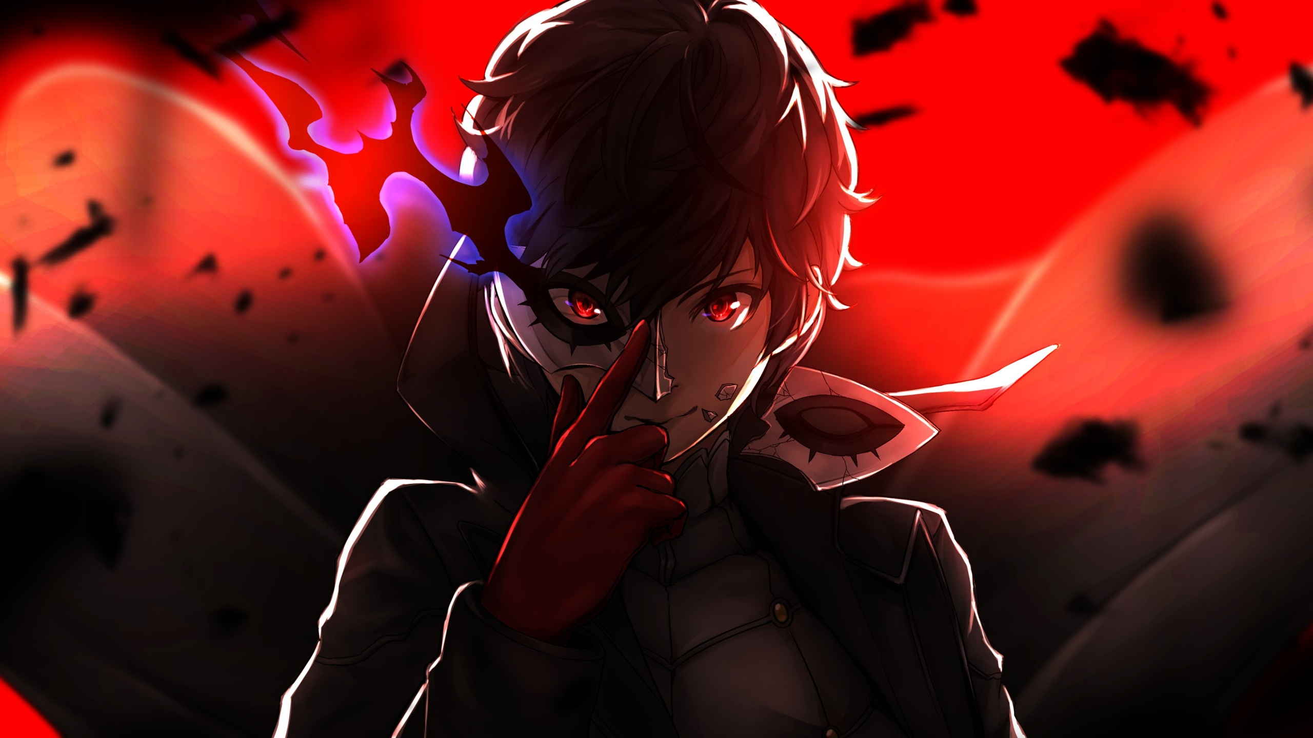 2560x1440 Protagoinst Persona 5 4k 1440p Resolution Hd 4k Wallpapers Images Backgrounds Photos And Pictures