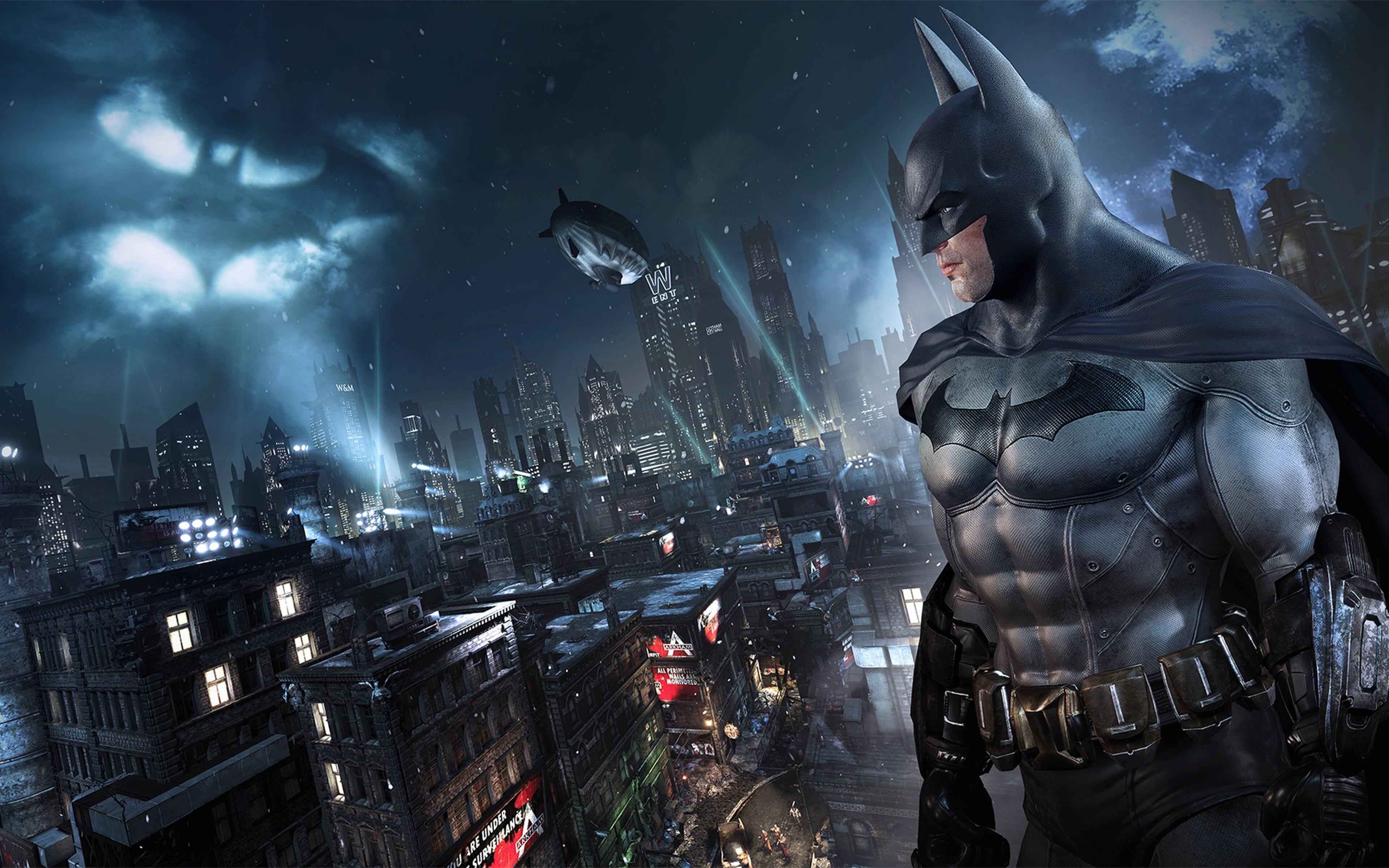 3840x2400 Ps4 Batman Arkham Knight 4k 2018 4k HD 4k ...