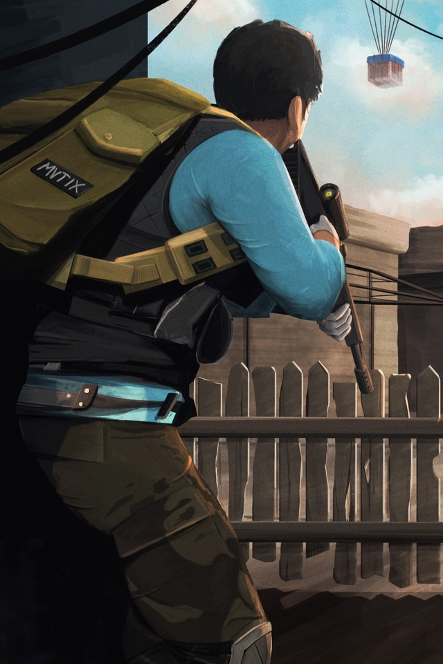640x960 Pubg Artwork Iphone 4 Iphone 4s Hd 4k Wallpapers Images