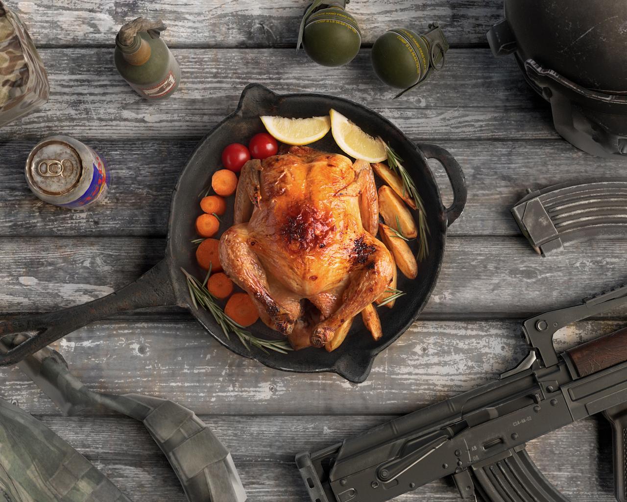 1280x1024 Pubg Chicken Dinner 1280x1024 Resolution Hd 4k