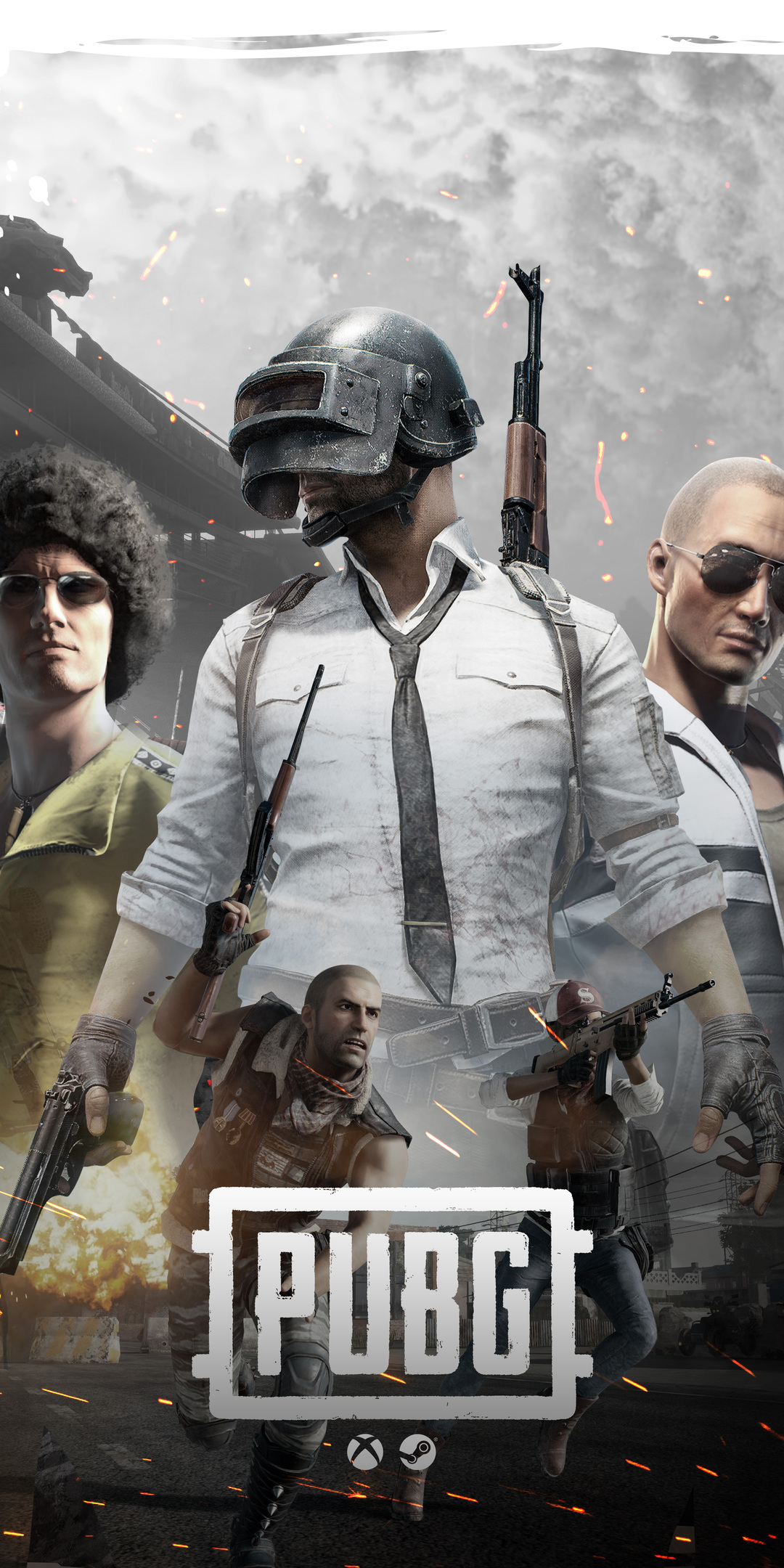 1080x2160 Pubg Game Poster Art 4k One Plus 5t Honor 7x Honor View 10