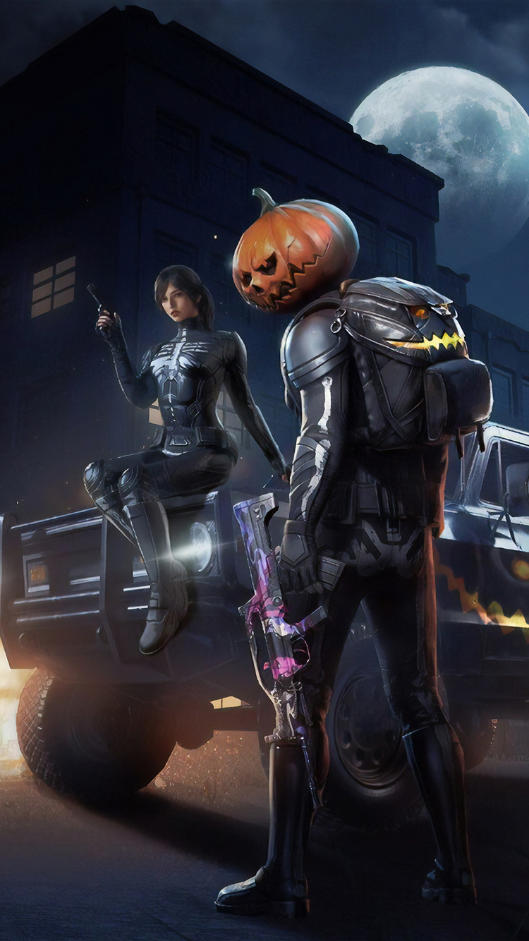 750x1334 Pubg Halloween Iphone 6 Iphone 6s Iphone 7 Hd 4k