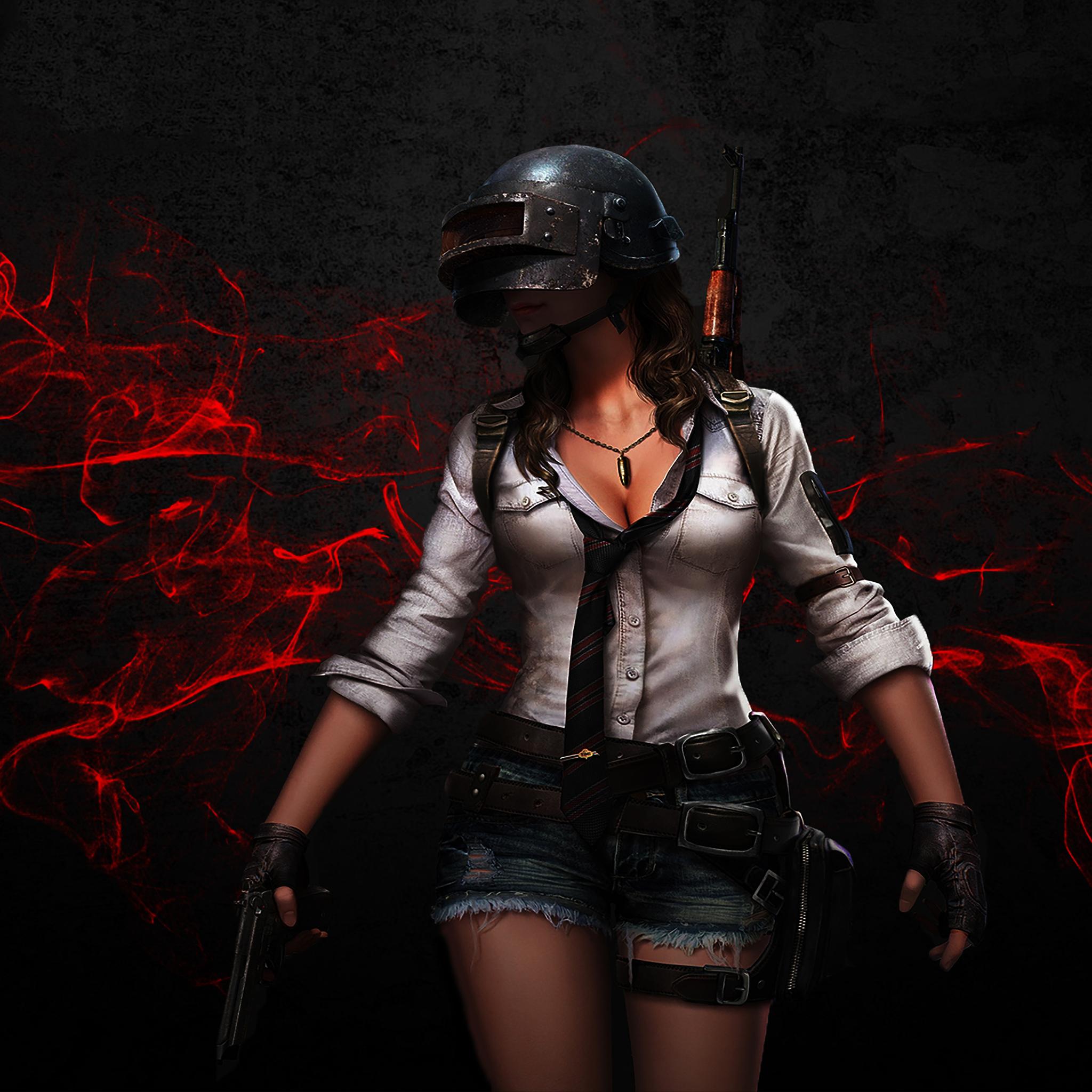 Pubg Helmet Girl Ln