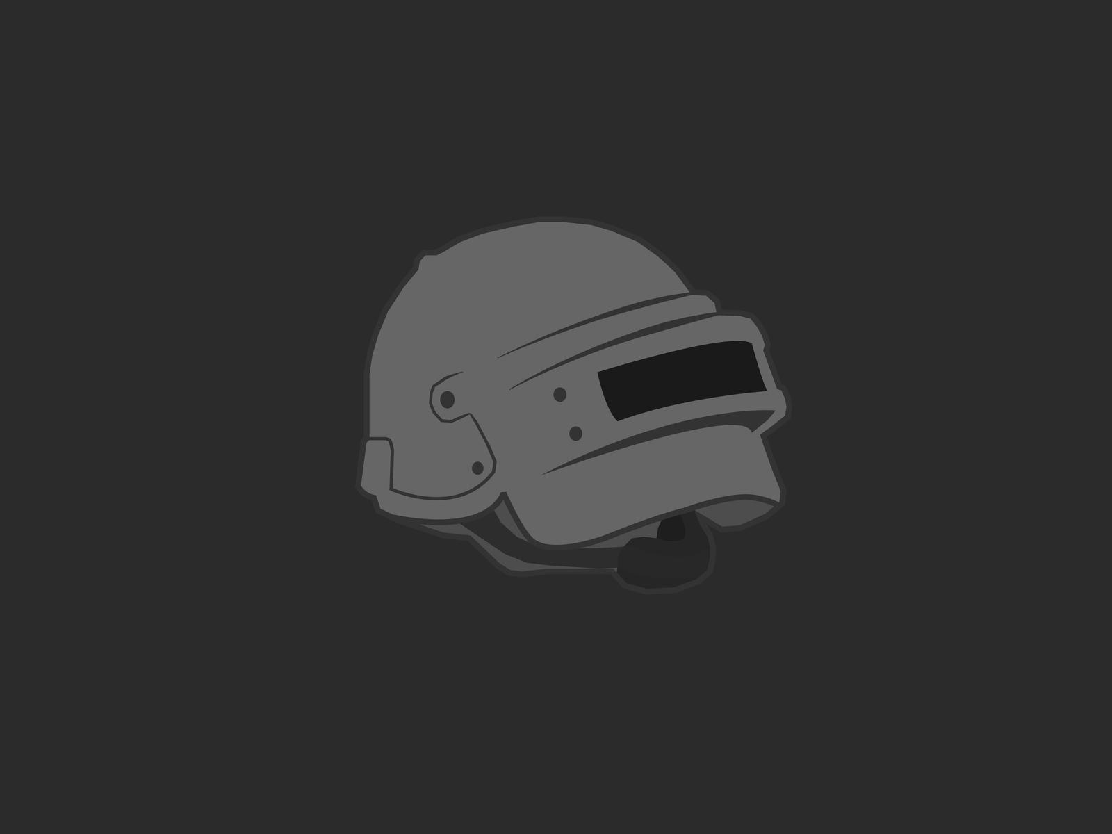 Pubg Hd Stickers: Pubg Helmet Vector