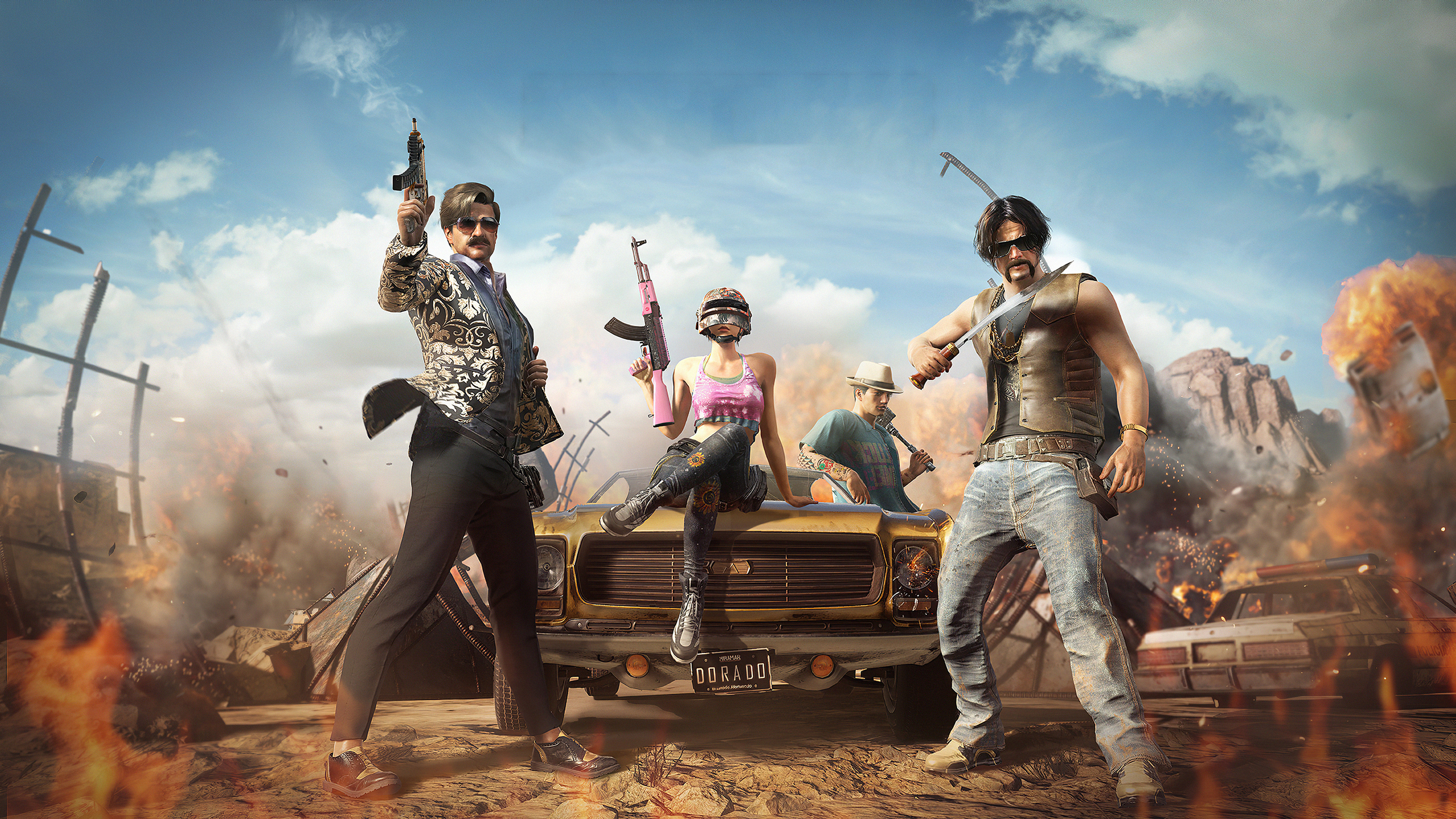 2560x1440 Pubg Warrior 4k 1440p Resolution Hd 4k Wallpapers Images Backgrounds Photos And Pictures