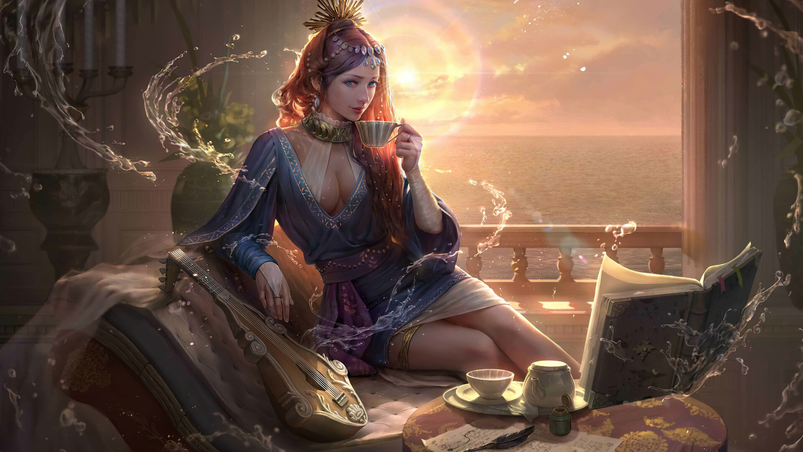 queen-morning-coffee-fantasy-4k-dc.jpg