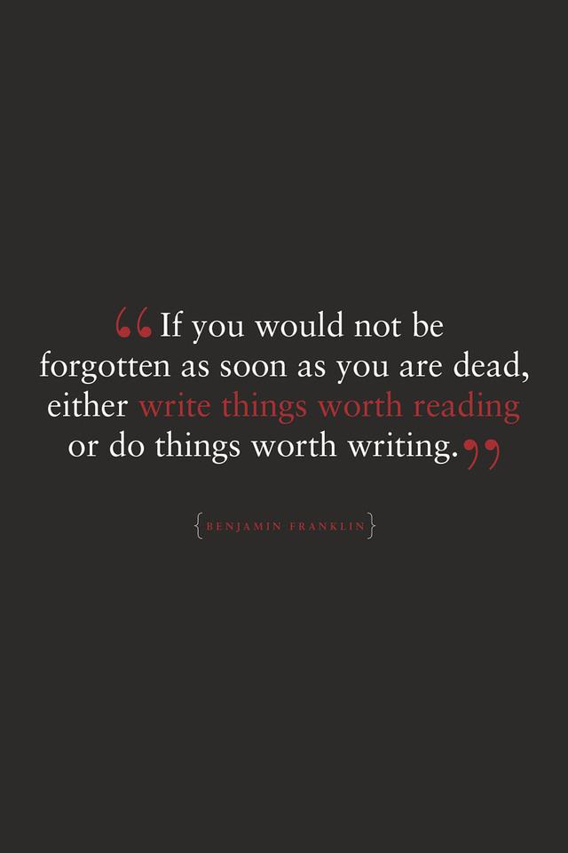Quote By Benjamin Franklin Po