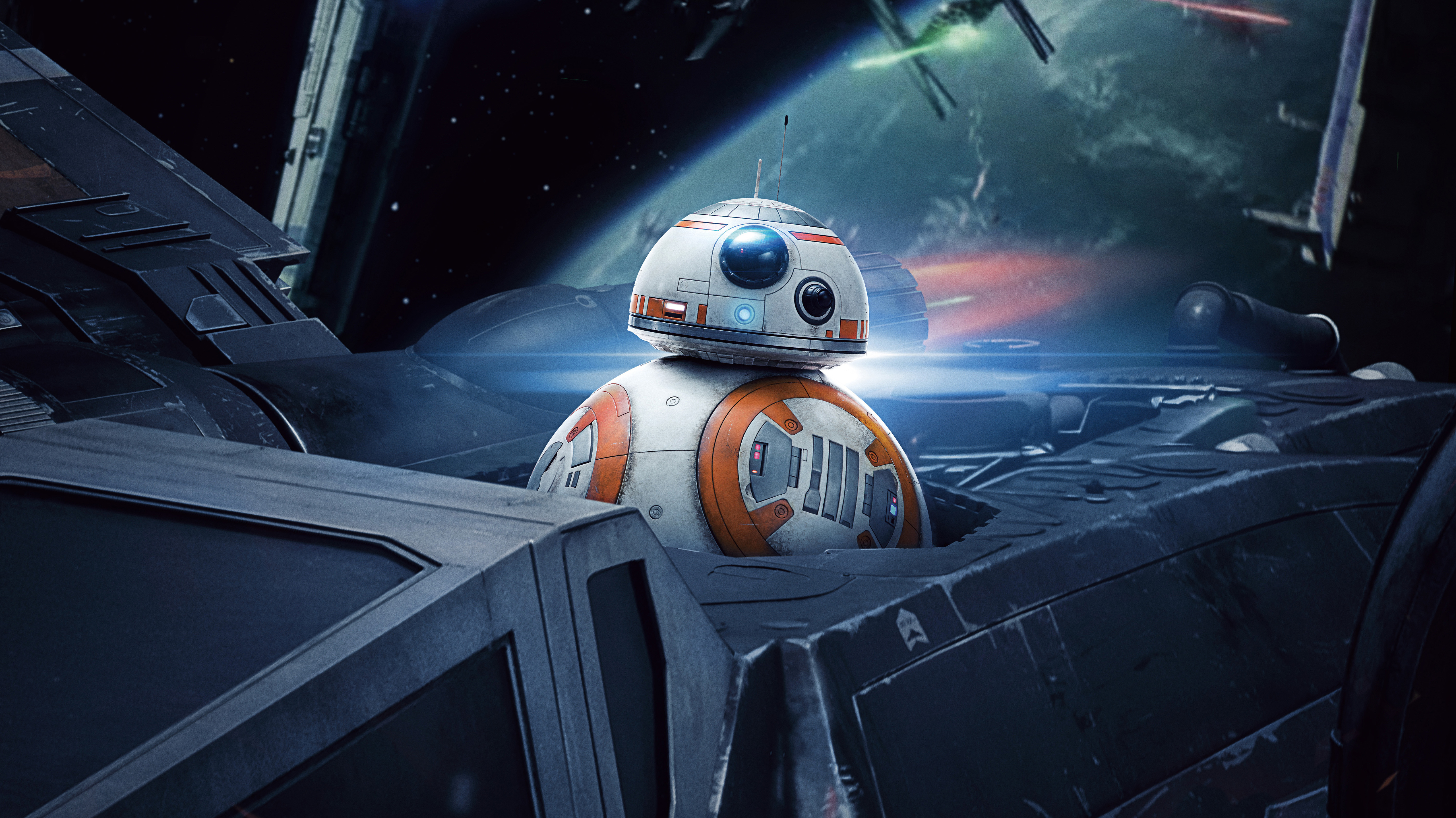 5120x2880 Bb8 In Star Wars The Last Jedi 5k 5k Hd 4k Wallpapers Images Backgrounds Photos And Pictures