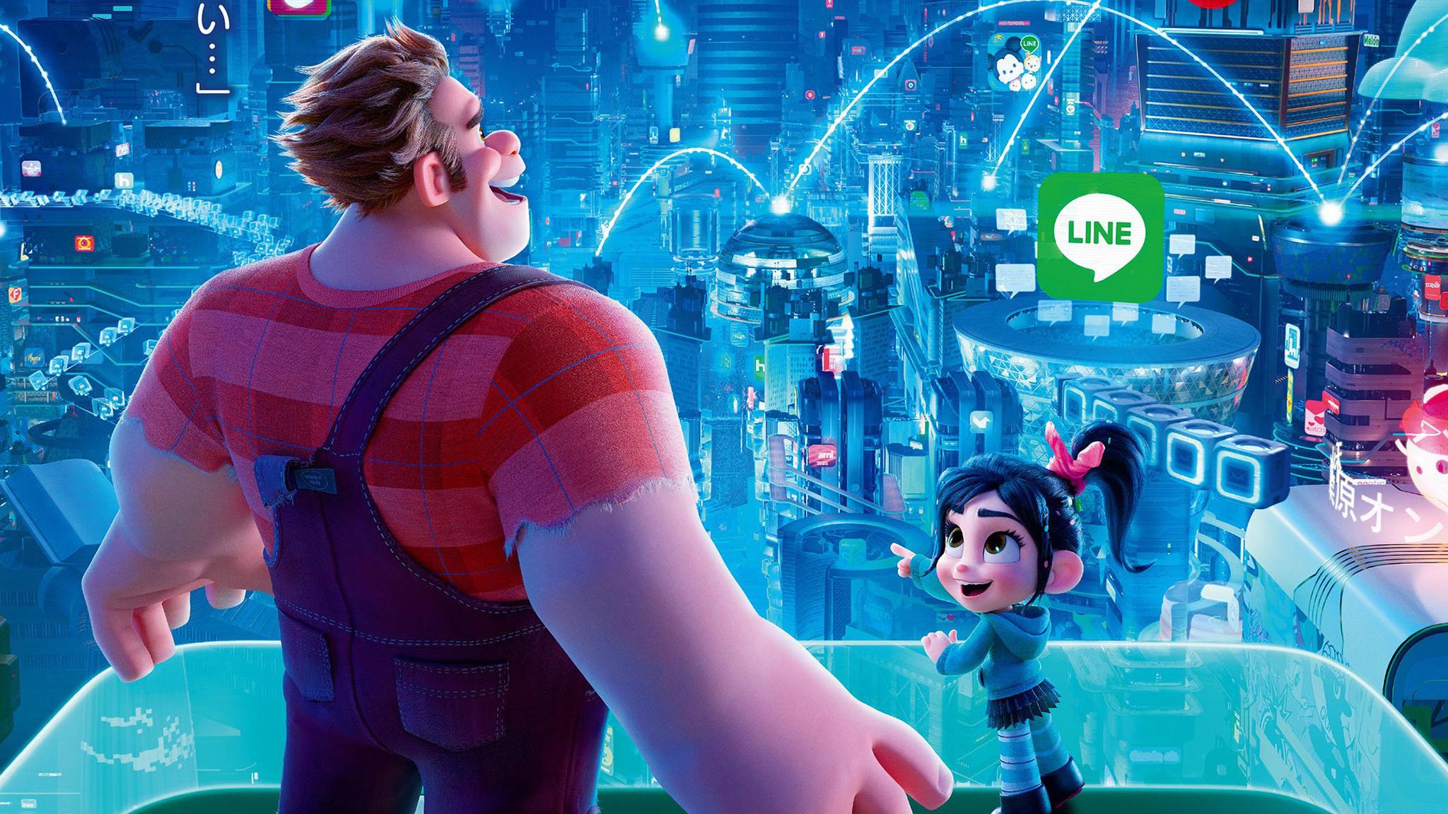 Wreck It Ralph Animation Movie 4k Hd Desktop Wallpaper For: 2048x1152 Ralph Breaks The Internet Wreck It Ralph 2