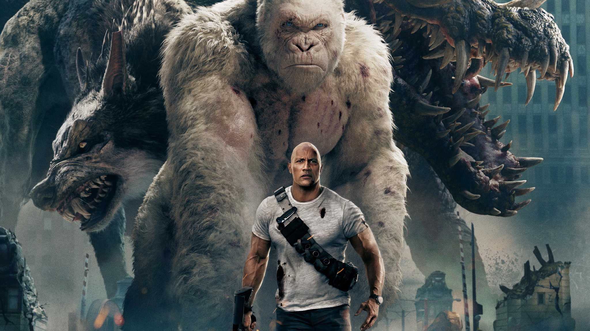Weekend Forecast Rampage Hopes To Conquer Box Office