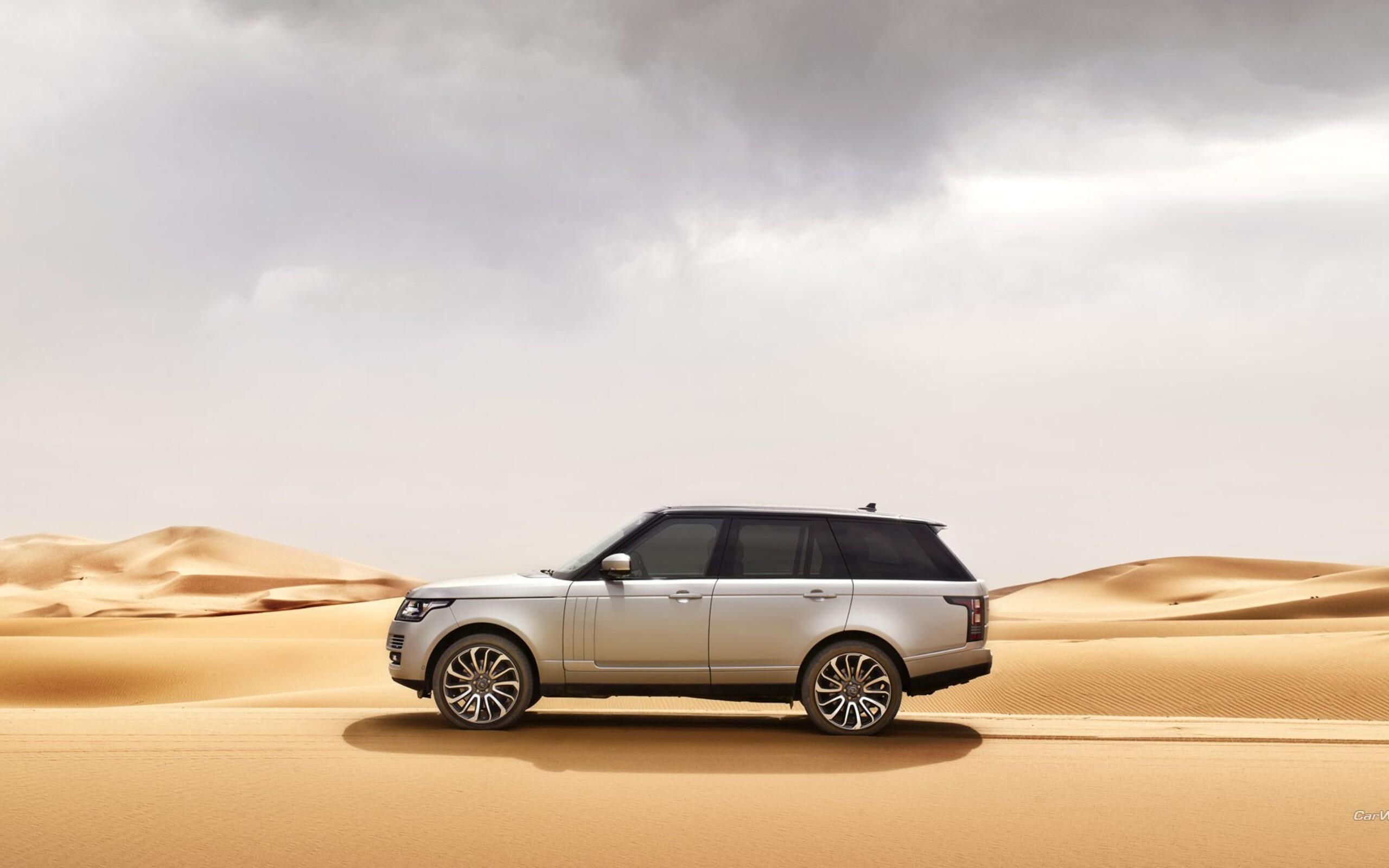 белый автомобиль Land Rover загрузить