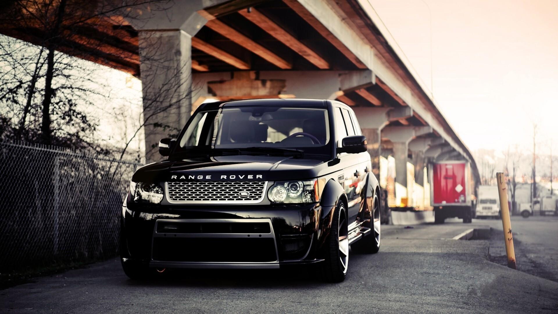 1920x1080 Range Rover Shining Black Laptop Full HD 1080P ...