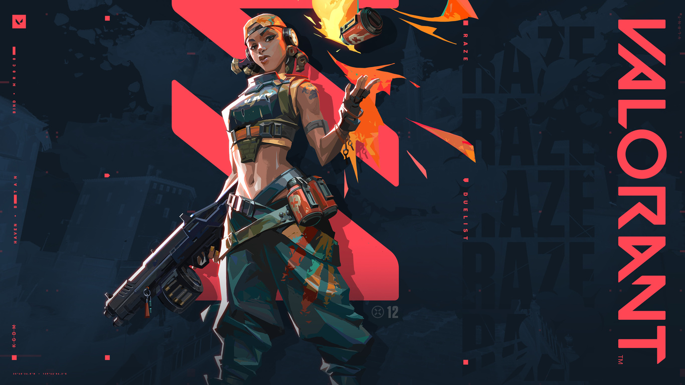 1366x768 Raze Valorant 1366x768 Resolution Hd 4k Wallpapers Images Backgrounds Photos And Pictures