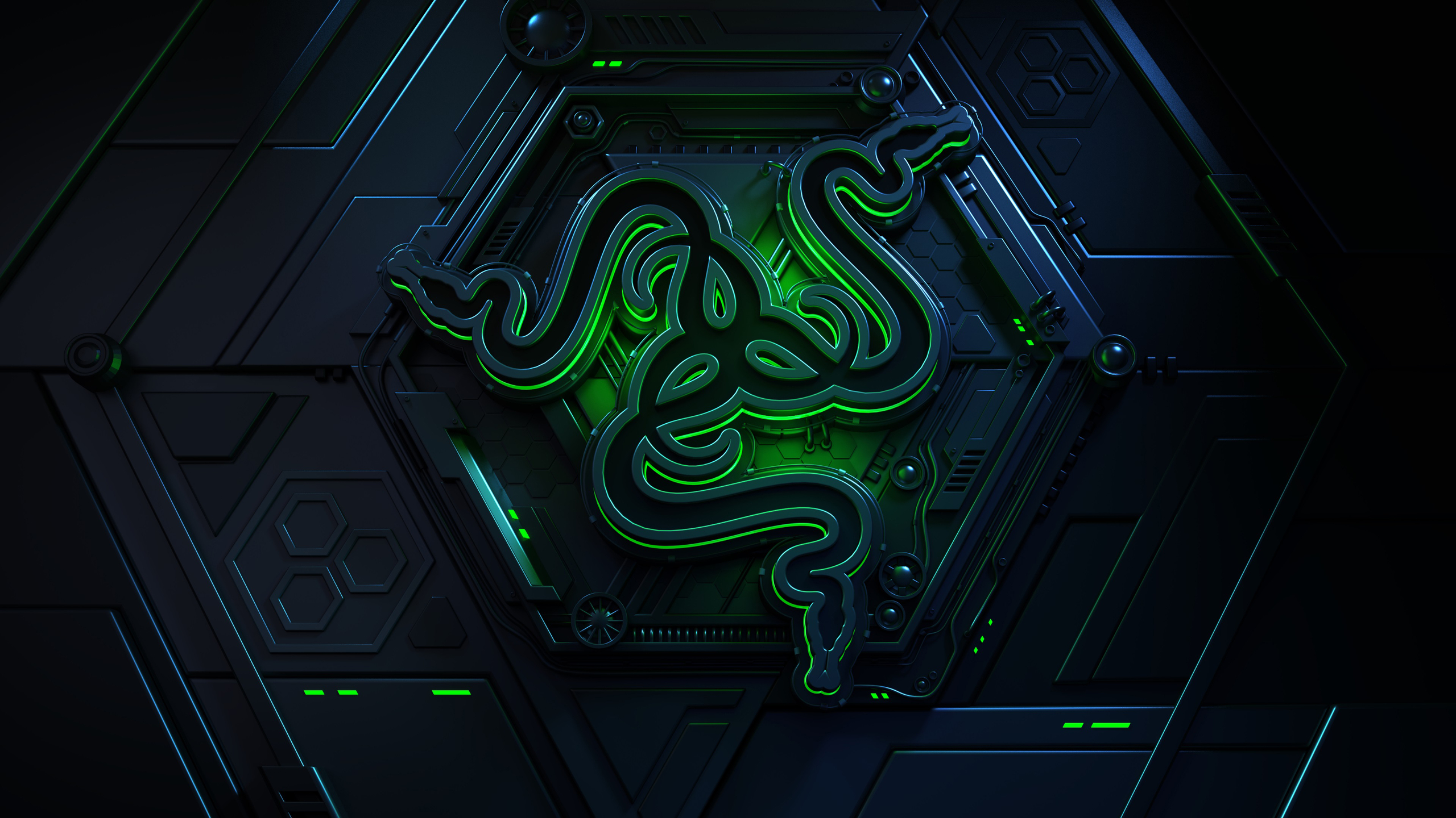 2560x1440 Razer 4k Logo 1440p Resolution Hd 4k Wallpapers Images Backgrounds Photos And Pictures