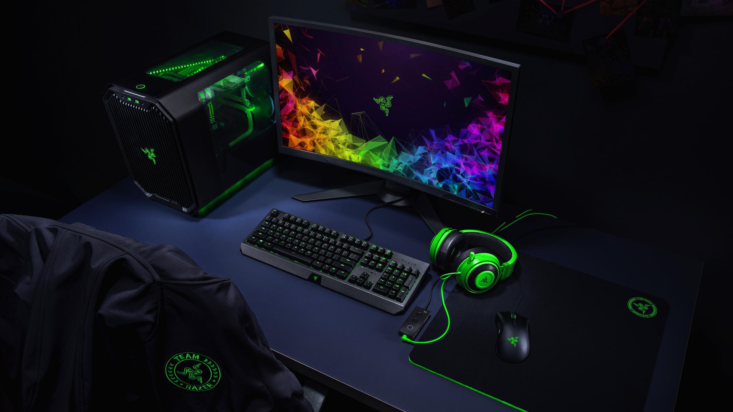 2560x1440 Razer Gaming Setup 8k 1440p Resolution Hd 4k
