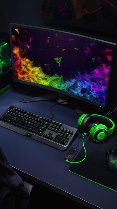 razer gaming setup 8k hr