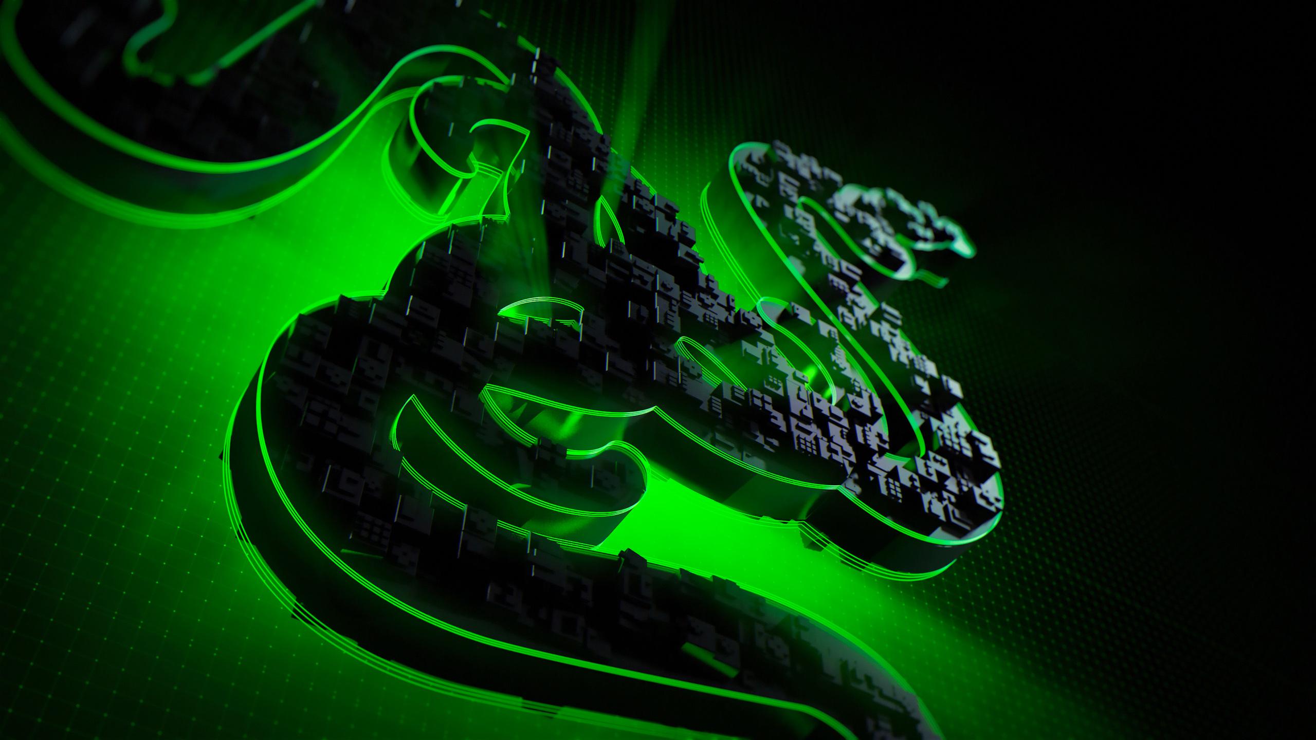 2560x1440 Razer Logo 4k 1440P Resolution HD 4k Wallpapers ...