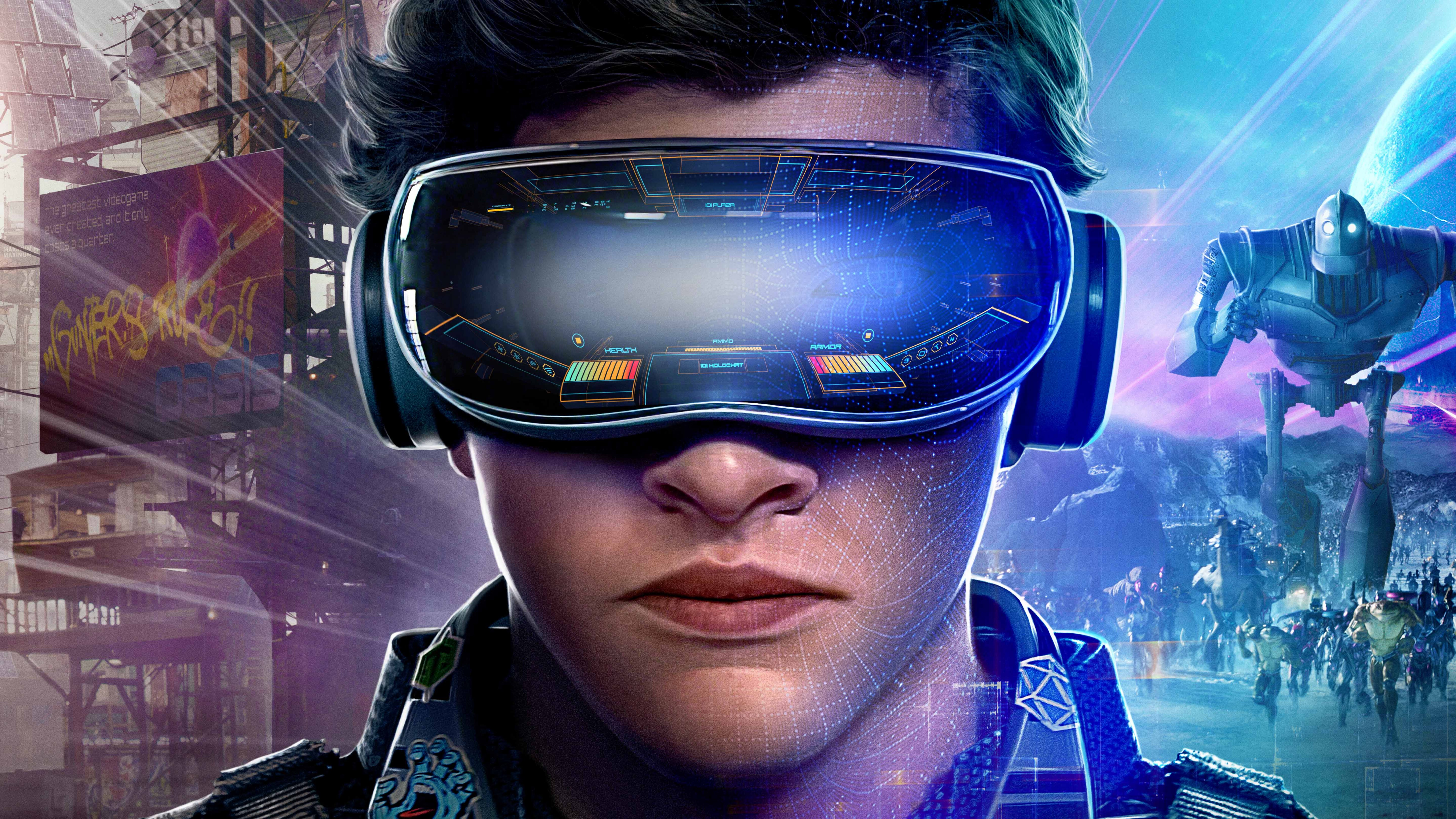 7680x4320 Ready Player One 10k Poster 8k HD 4k Wallpapers, Images